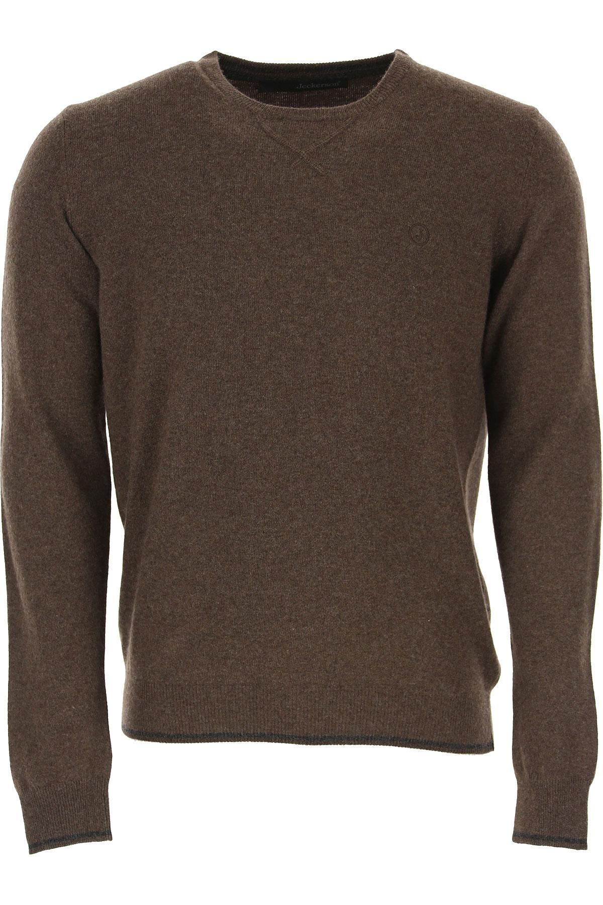 Jeckerson Sweater for Men Jumper, Brown, polyamide, 2019, L S XXL