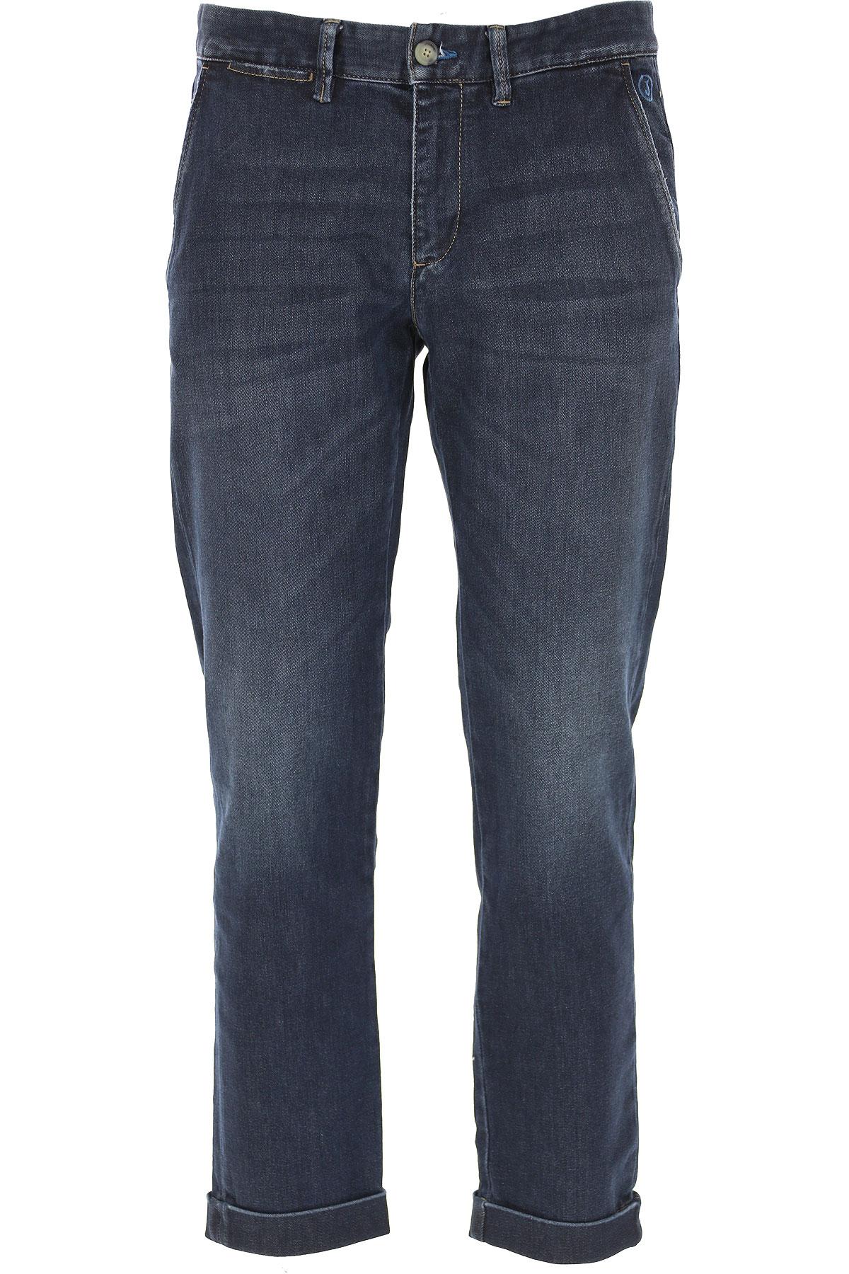 Jeckerson Jeans On Sale, Dark Blue Denim, Cotton, 2019, 30 31 32 33 34 35 36 38