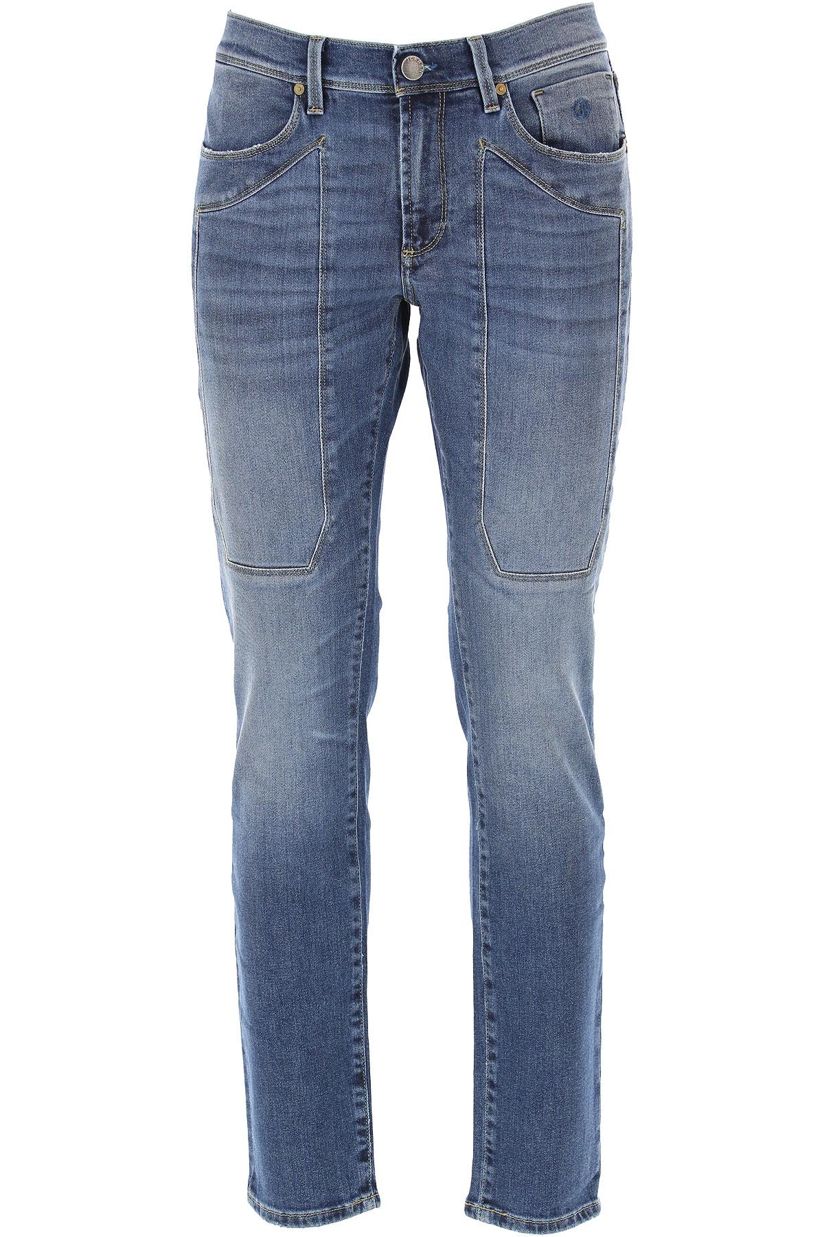 Jeckerson Jeans On Sale, Denim Blue, Cotton, 2019, 30 31 33 34 35 38