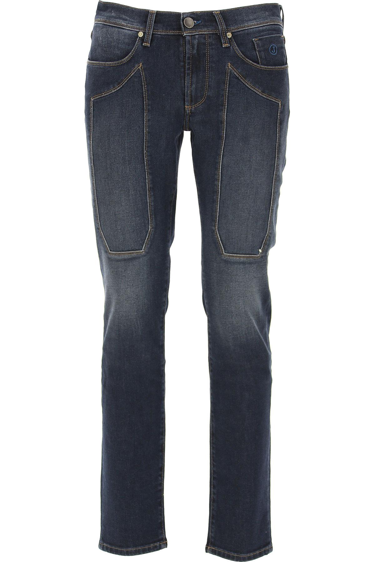 Jeckerson Jeans On Sale, Blue Denim, Cotton, 2019, 30 31 32 33 34 35 36 38