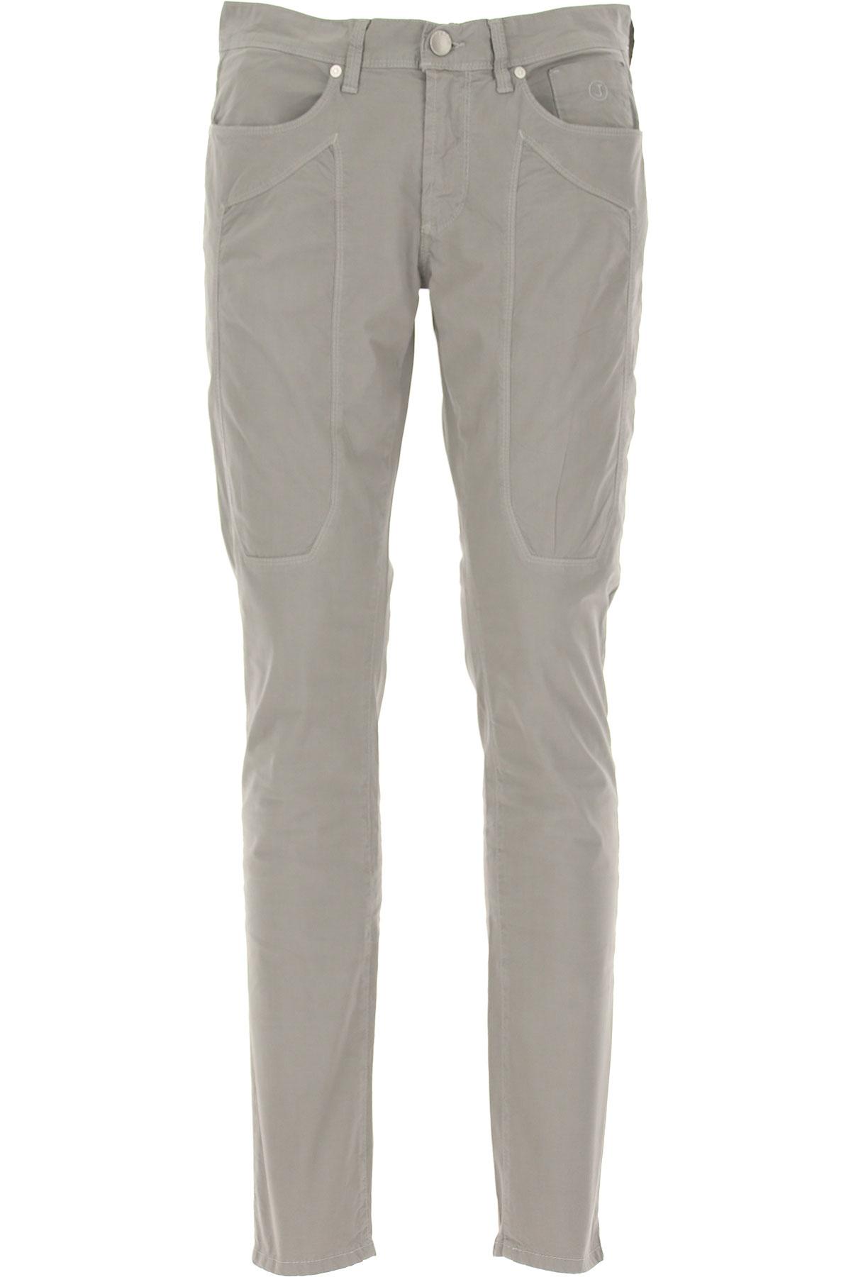 Jeckerson Pantalon Homme, Gris, Coton, 2019, 47 48 49 50 51 52