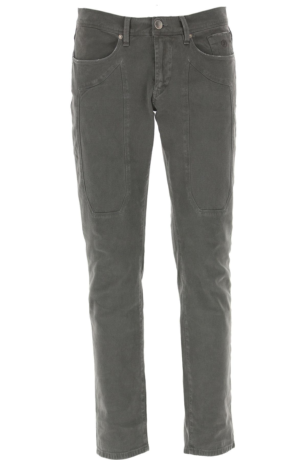 Jeckerson Pants for Men On Sale, Grey, Cotton, 2019, 30 31 32 33 34 35 36 38