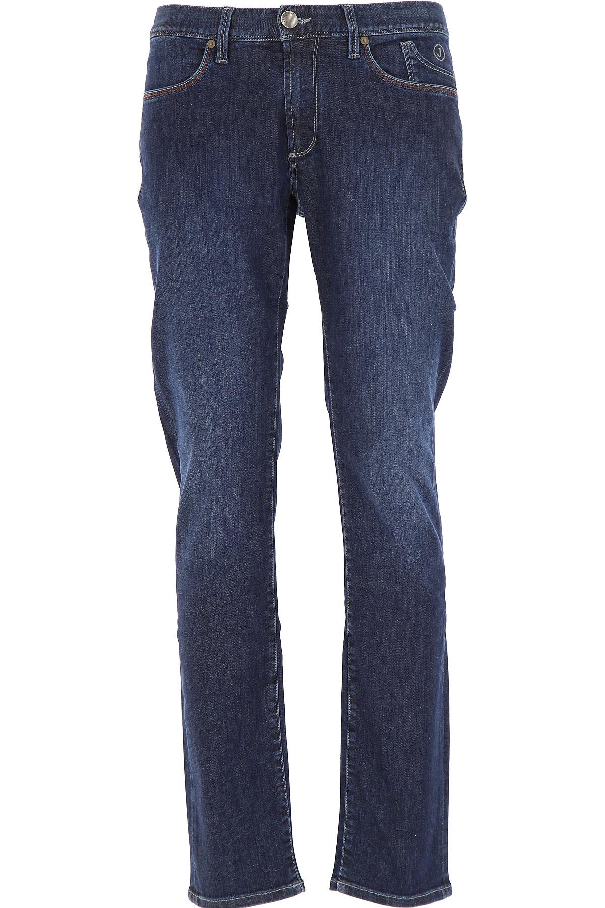 Jeckerson Jeans, Dark Blue, Cotton, 2019, 31 33