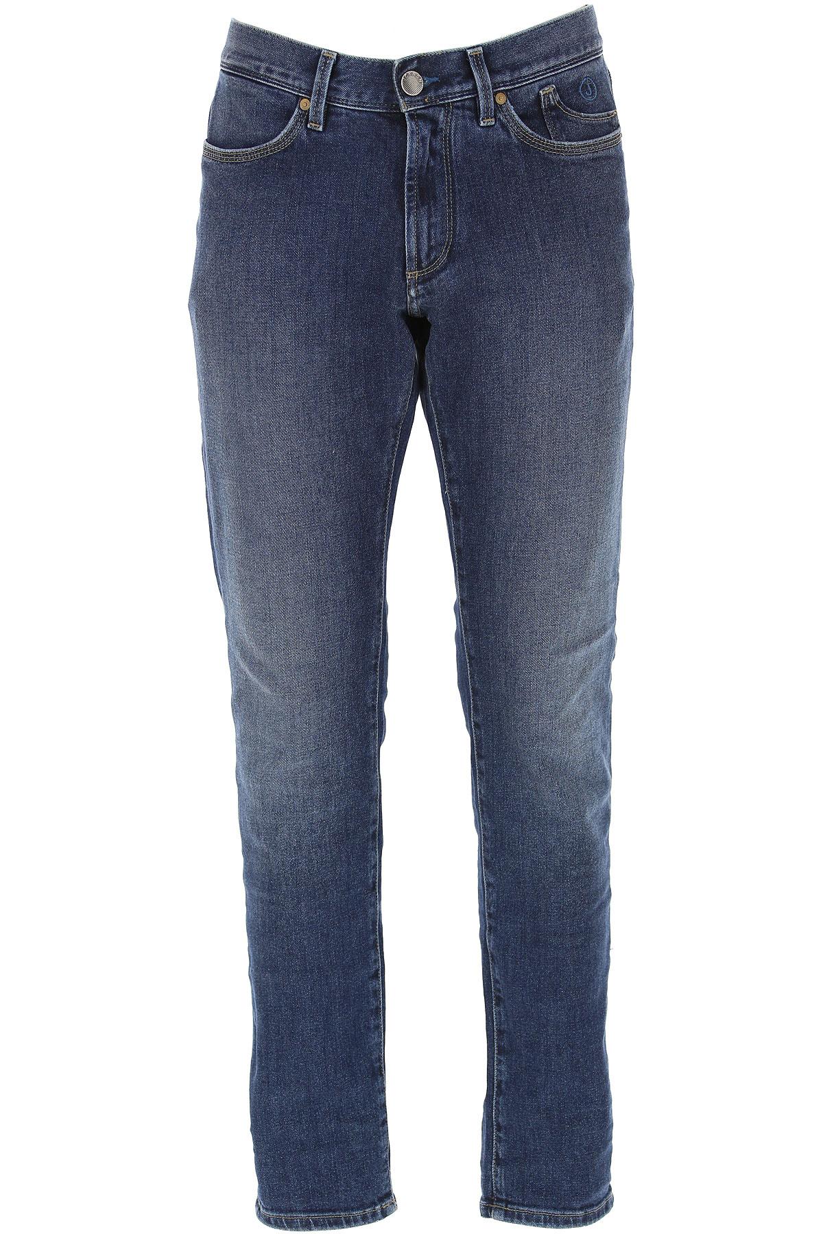 Jeckerson Jeans On Sale, Denim Blue, Cotton, 2019, 30 31 32 33 34 35 36 38 40