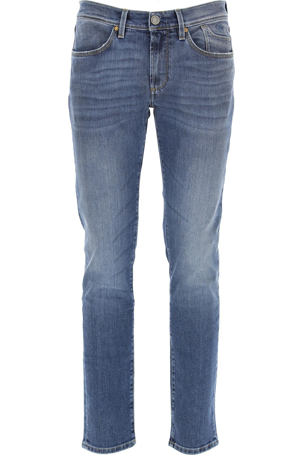 Jeckerson Jeans On Sale, Blue Denim, Cotton, 2019, 34 36 38