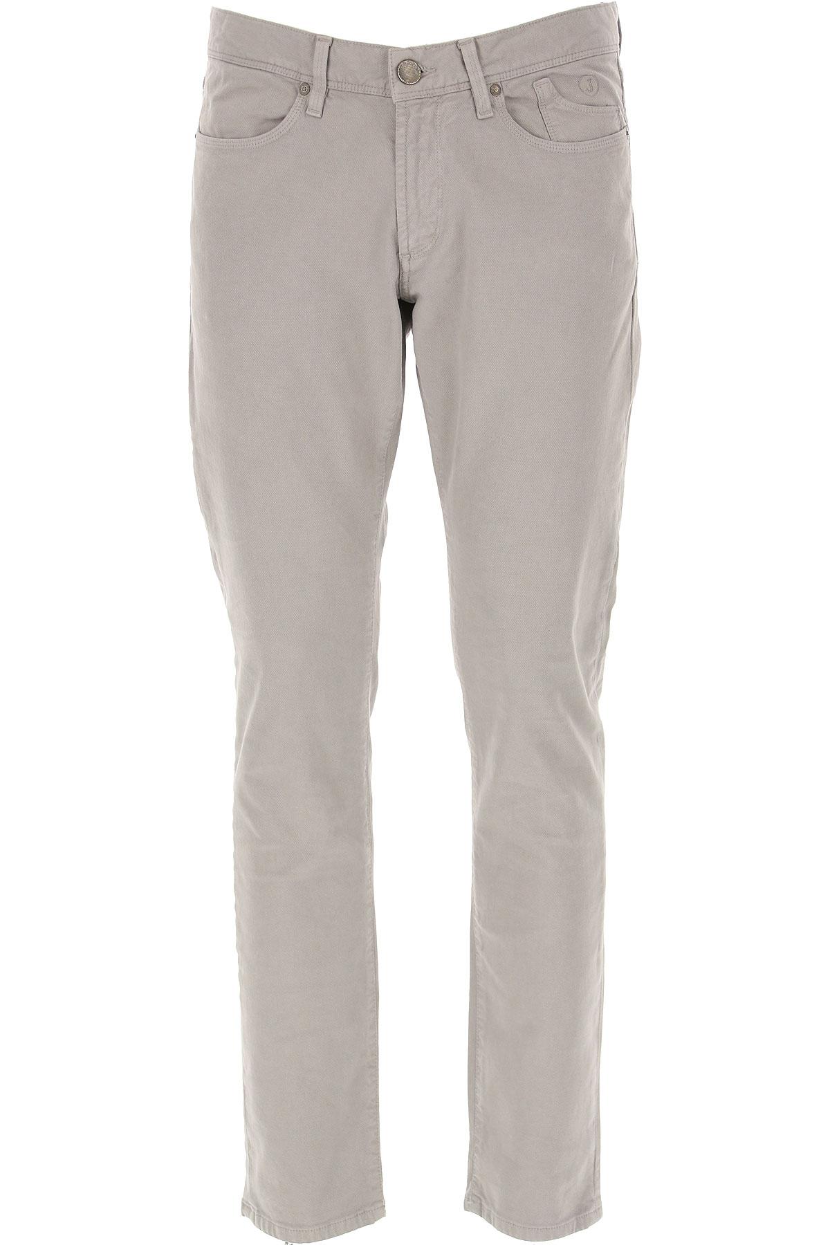Jeckerson Pants for Men On Sale, Light Grey, Cotton, 2019, 30 31 32 33 34 36 38