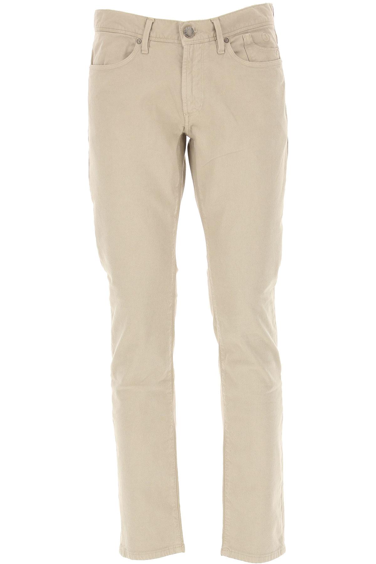 Jeckerson Pants for Men On Sale, Cream, Cotton, 2019, 30 31 32 34 35 36 38