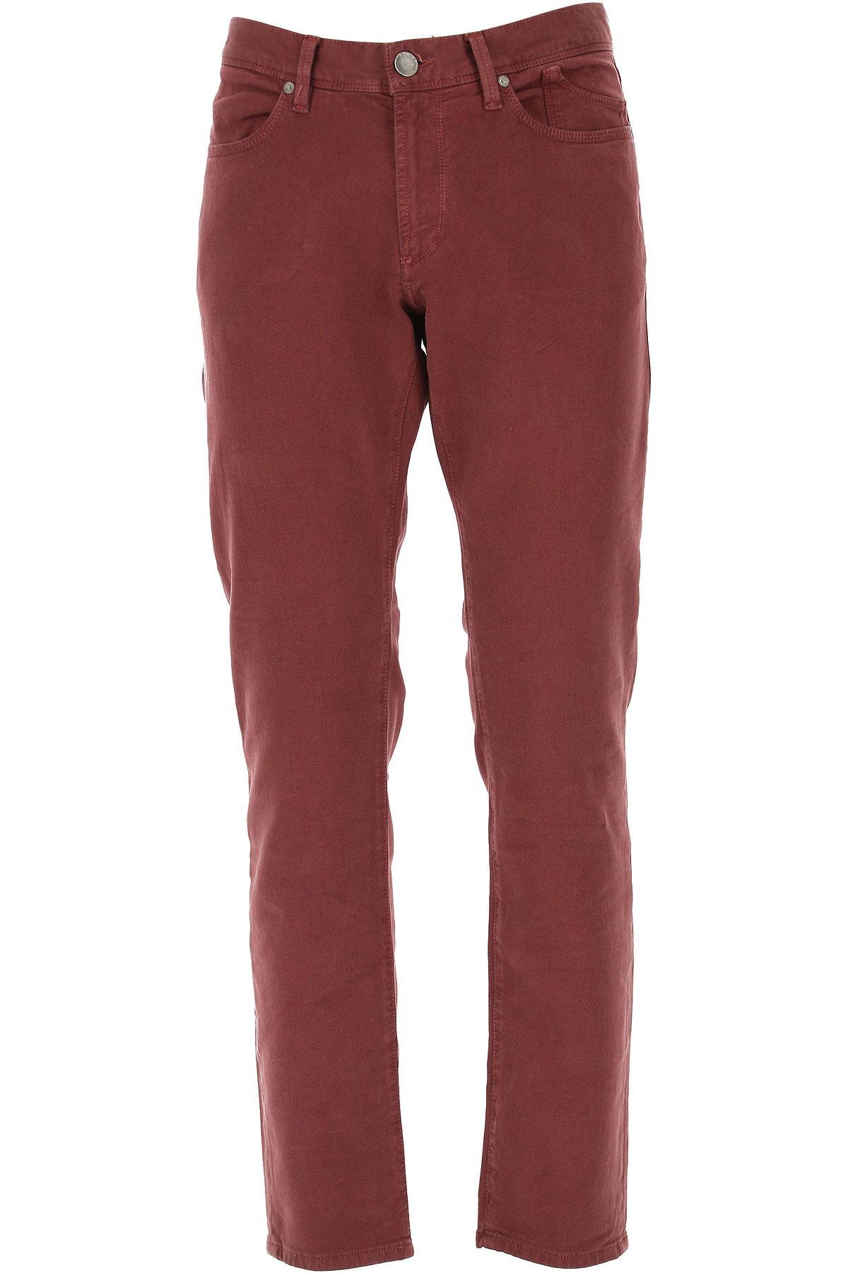 Jeckerson Pants for Men On Sale, Garnet, Cotton, 2019, 30 33 34 38