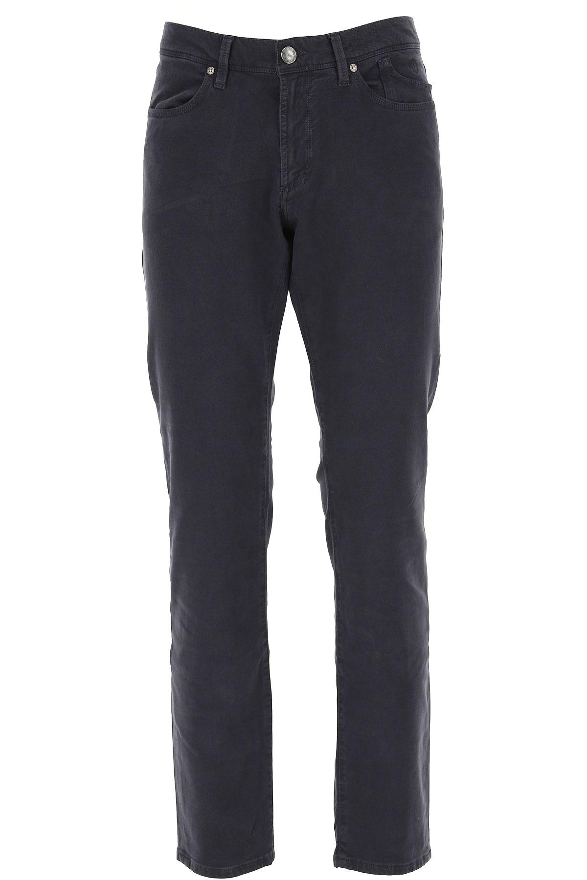 Jeckerson Pants for Men, Midnight Blue, Cotton, 2019, 30 31