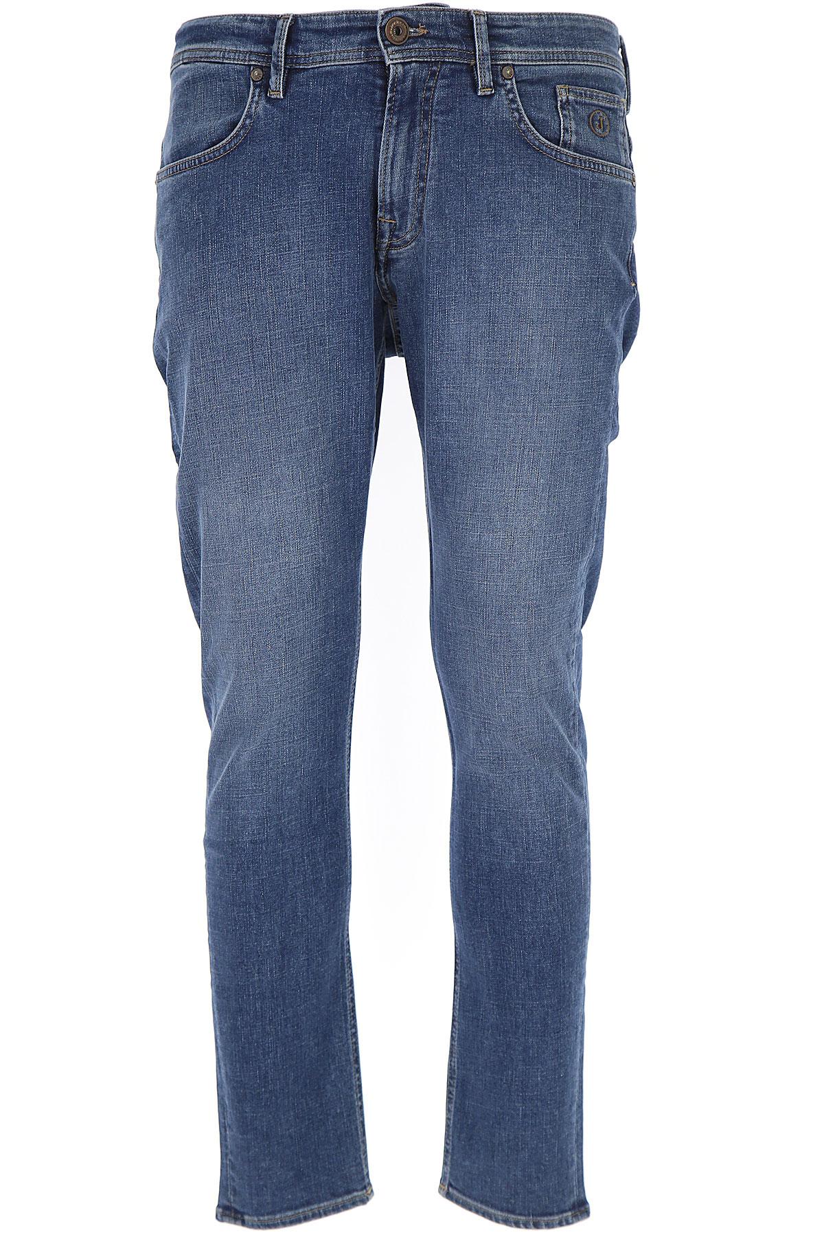 Image of Jeckerson Jeans, Blue Denim, Cotton, 2017, 31 33 35