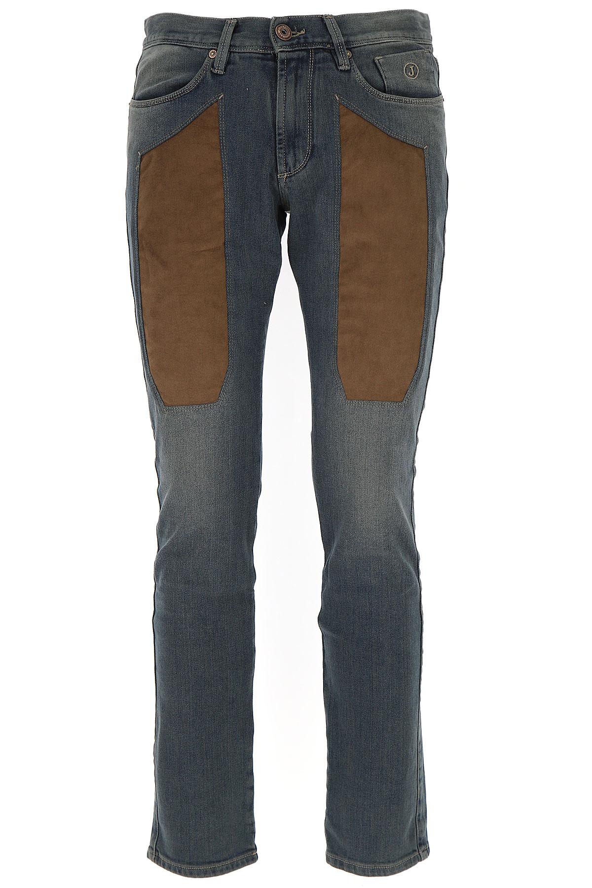 Image of Jeckerson Jeans, Dark Blue Denim, Cotton, 2017, 30 31 32 33