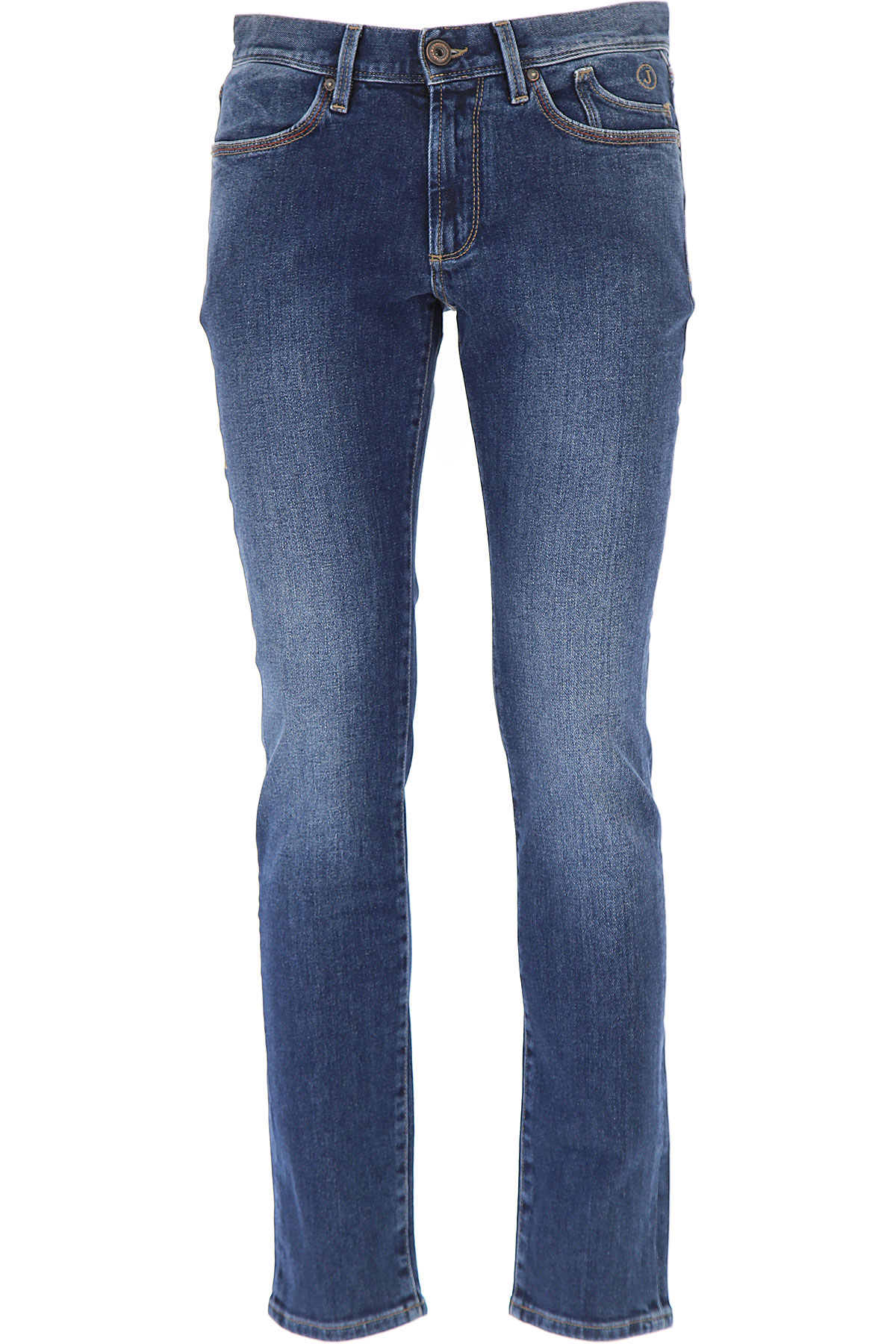 Image of Jeckerson Jeans, Blue Dark, Cotton, 2017, 30 31 32 34