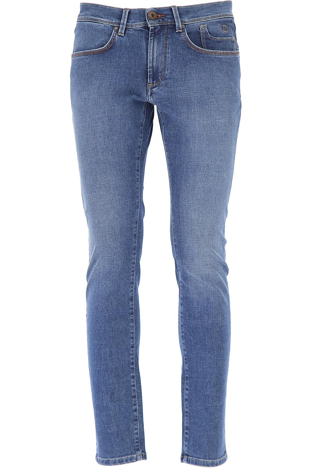Image of Jeckerson Jeans, Blue Denim, Cotton, 2017, 30 31 32 33 34