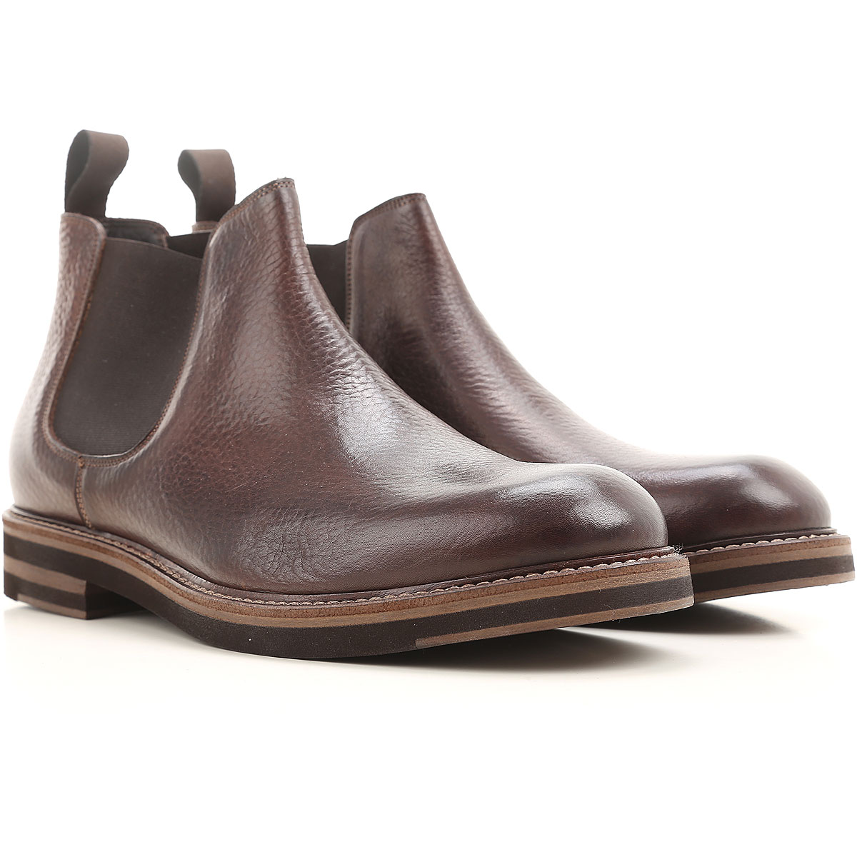 Image of Jerold Wilton Mens Shoes, Brown coffee, Leather, 2017, 10 7 7.5 8 9.5