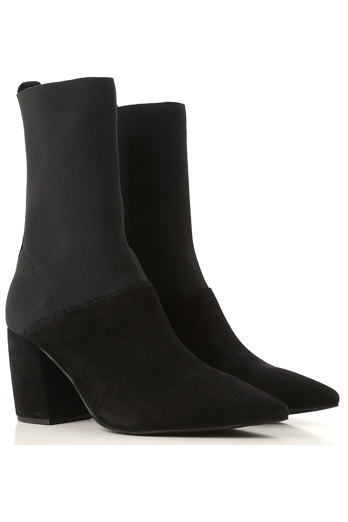 Image of Jeffrey Campbell Boots for Women, Booties, Black, Suede leather, 2017, 10 11 6 7 8 9