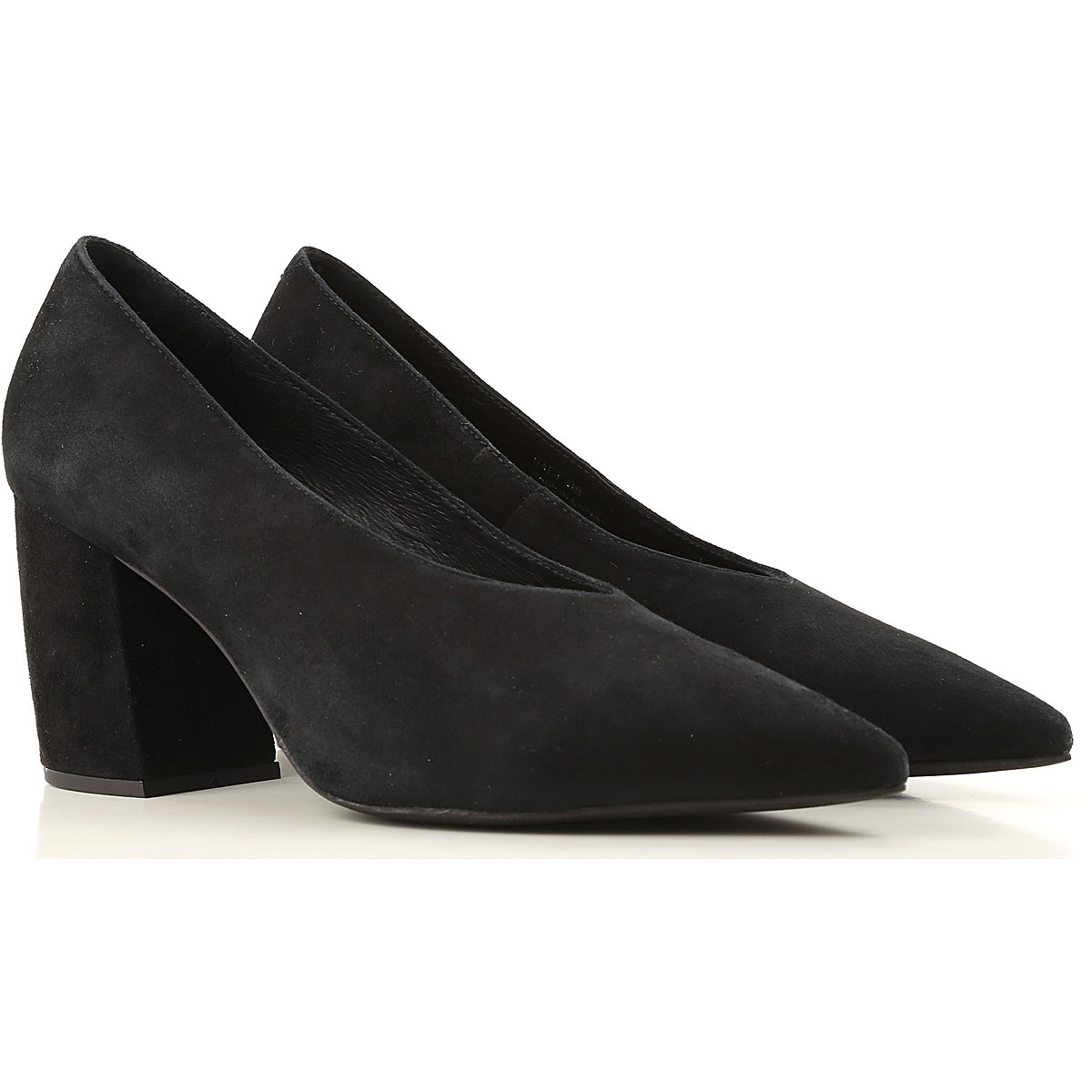 Jeffrey Campbell Pumps & High Heels for Women On Sale in Outlet, Black, Suede leather, 2019, 6 7 9