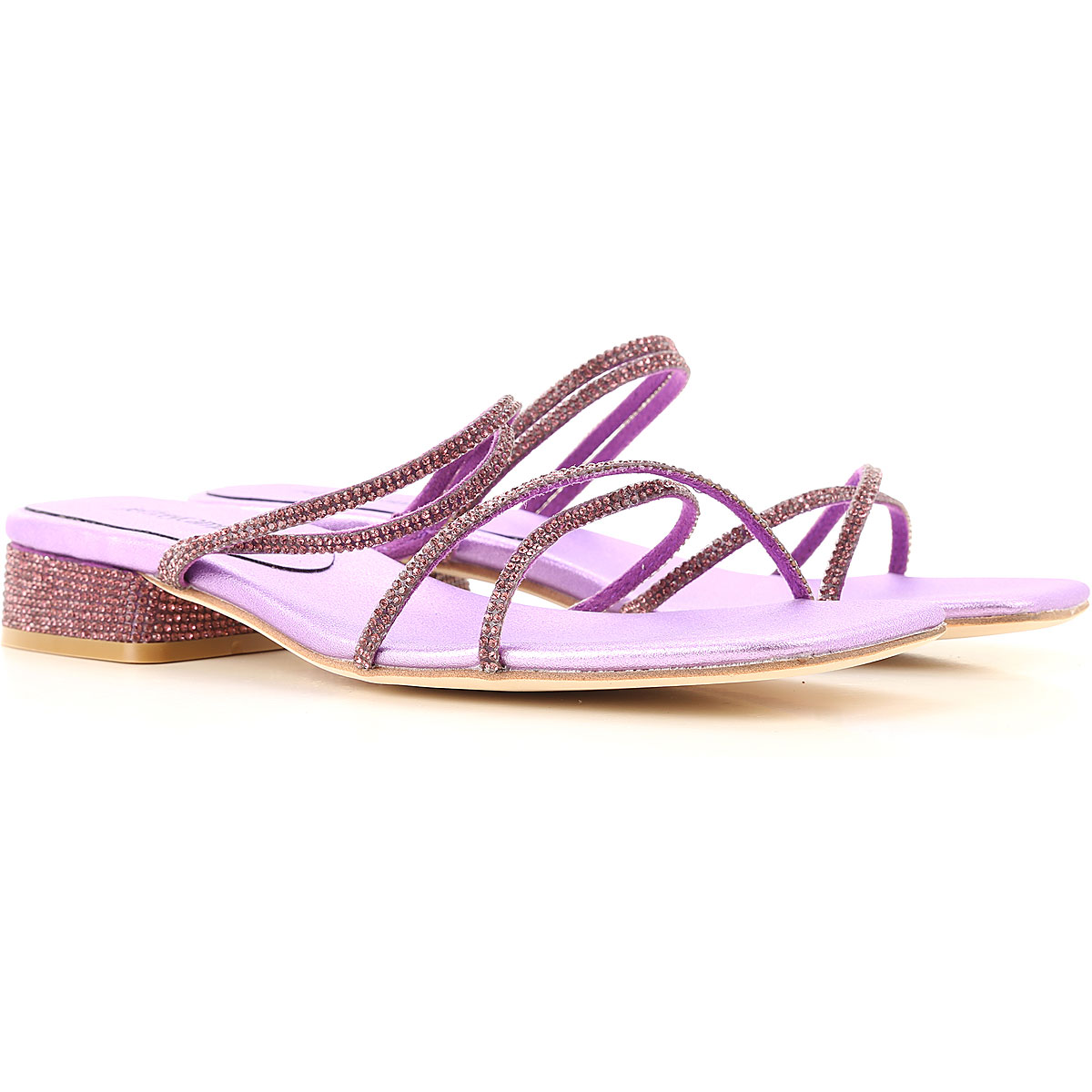 Jeffrey Campbell Sandals for Women On Sale, Purple, Fabric, 2019, 6 7 8 9