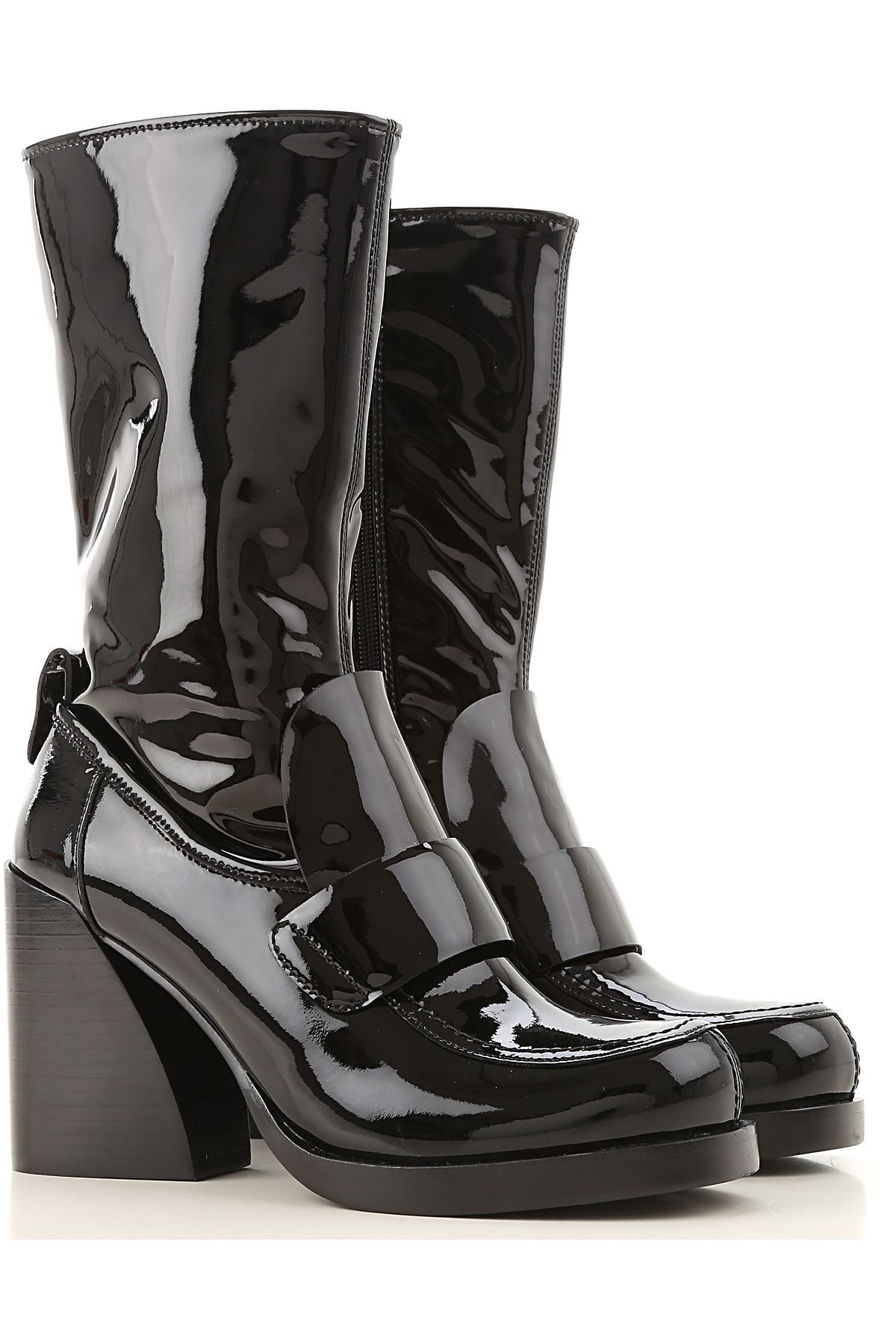 Jeffrey Campbell Boots for Women, Booties On Sale, Black, Patent Leather, 2019, 10 11 6 7 8 9