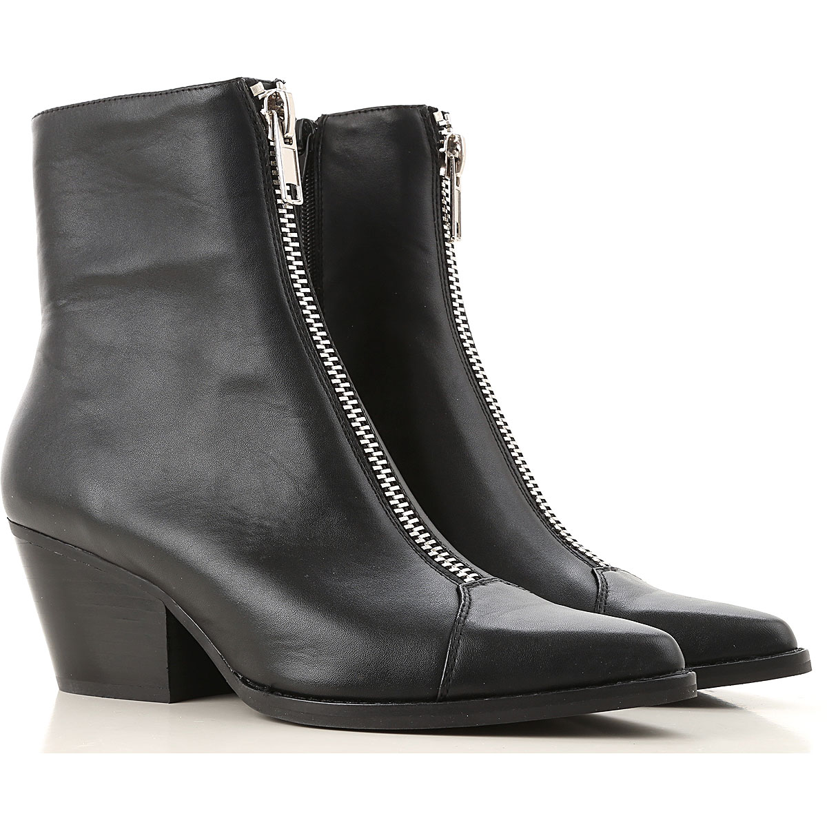 Jeffrey Campbell Boots for Women, Booties On Sale, Black, Synthetic Leather, 2019, 10 11 6 7 9