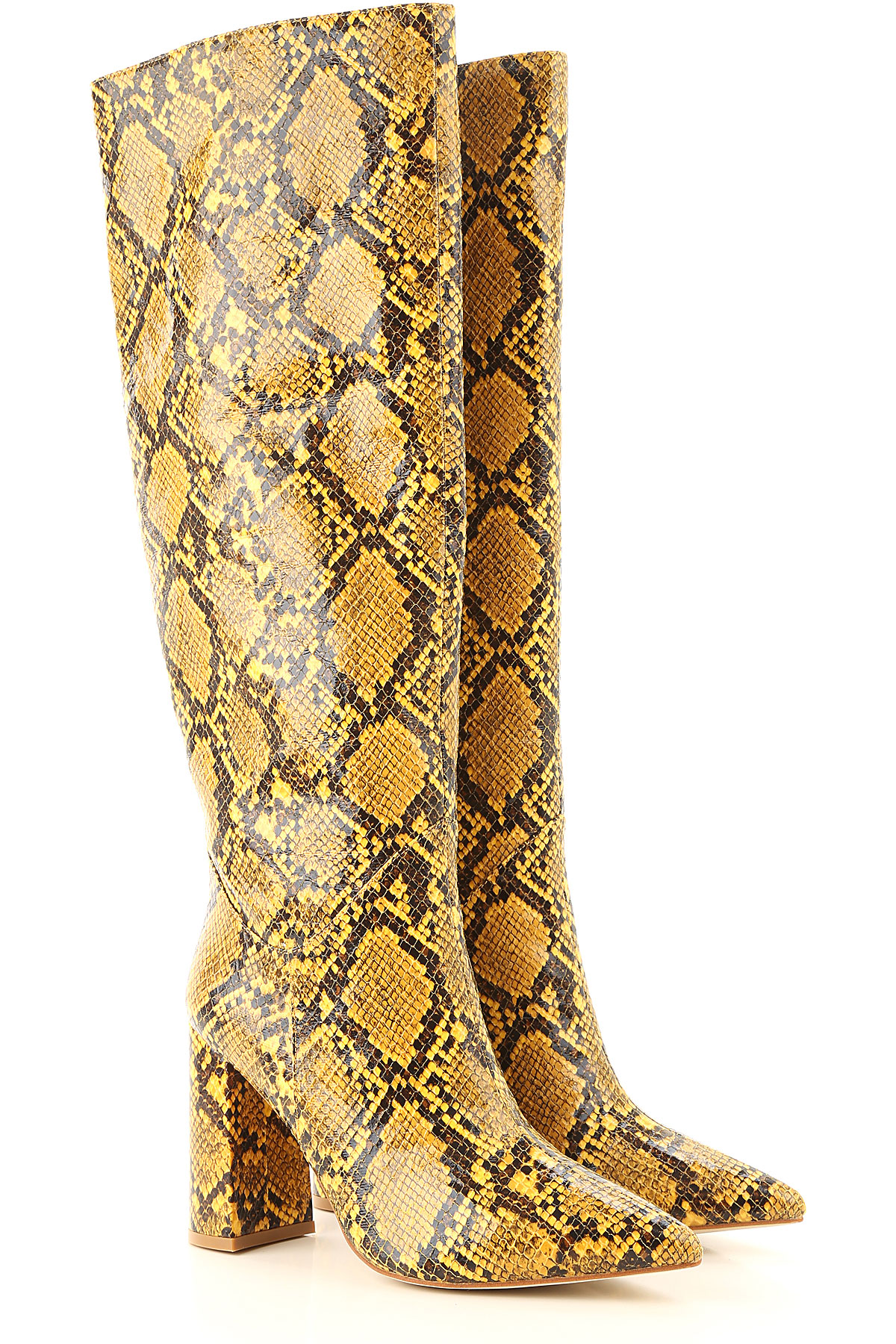Jeffrey Campbell Boots for Women, Booties On Sale, Yellow, Eco Leather, 2019, 10 6 7 8 9