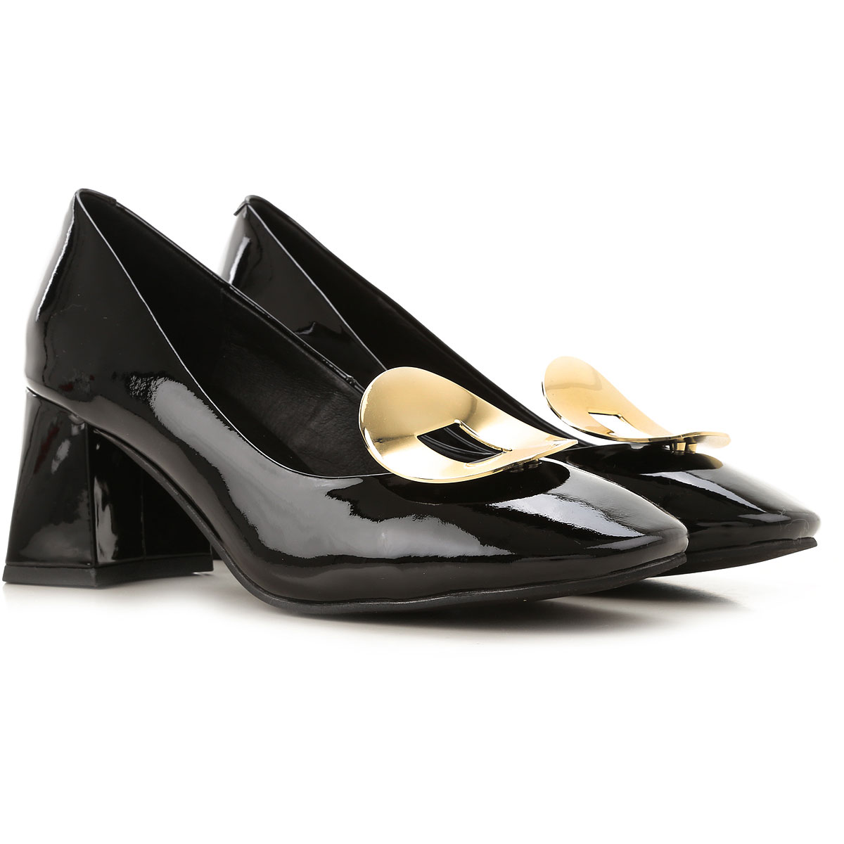 Jeffrey Campbell Pumps & High Heels for Women On Sale, Black, Patent Leather, 2019, 6 7 9