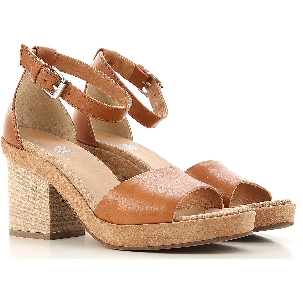 Janet & Janet Sandals for Women On Sale in Outlet, Papaya, Leather, 2019, 6 8