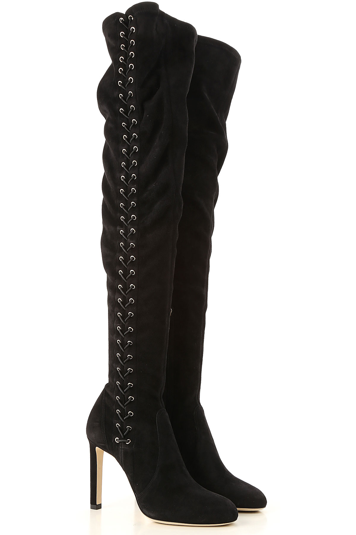 Jimmy Choo Boots for Women, Booties On Sale in Outlet, Black, suede, 2019, 7 8 8.5 9 9.5