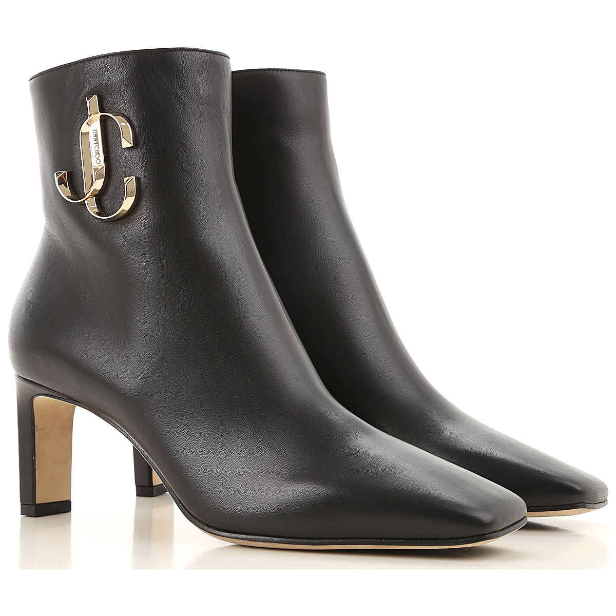 Jimmy Choo Boots for Women, Booties On Sale, Black, Leather, 2019, 11 6 6.5 7 8 8.5 9