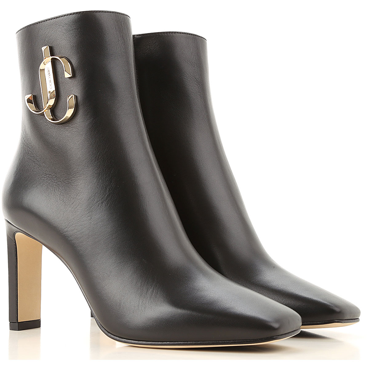Jimmy Choo Boots for Women, Booties On Sale, Black, Leather, 2019, 10 5 6 6.5 8 8.5 9