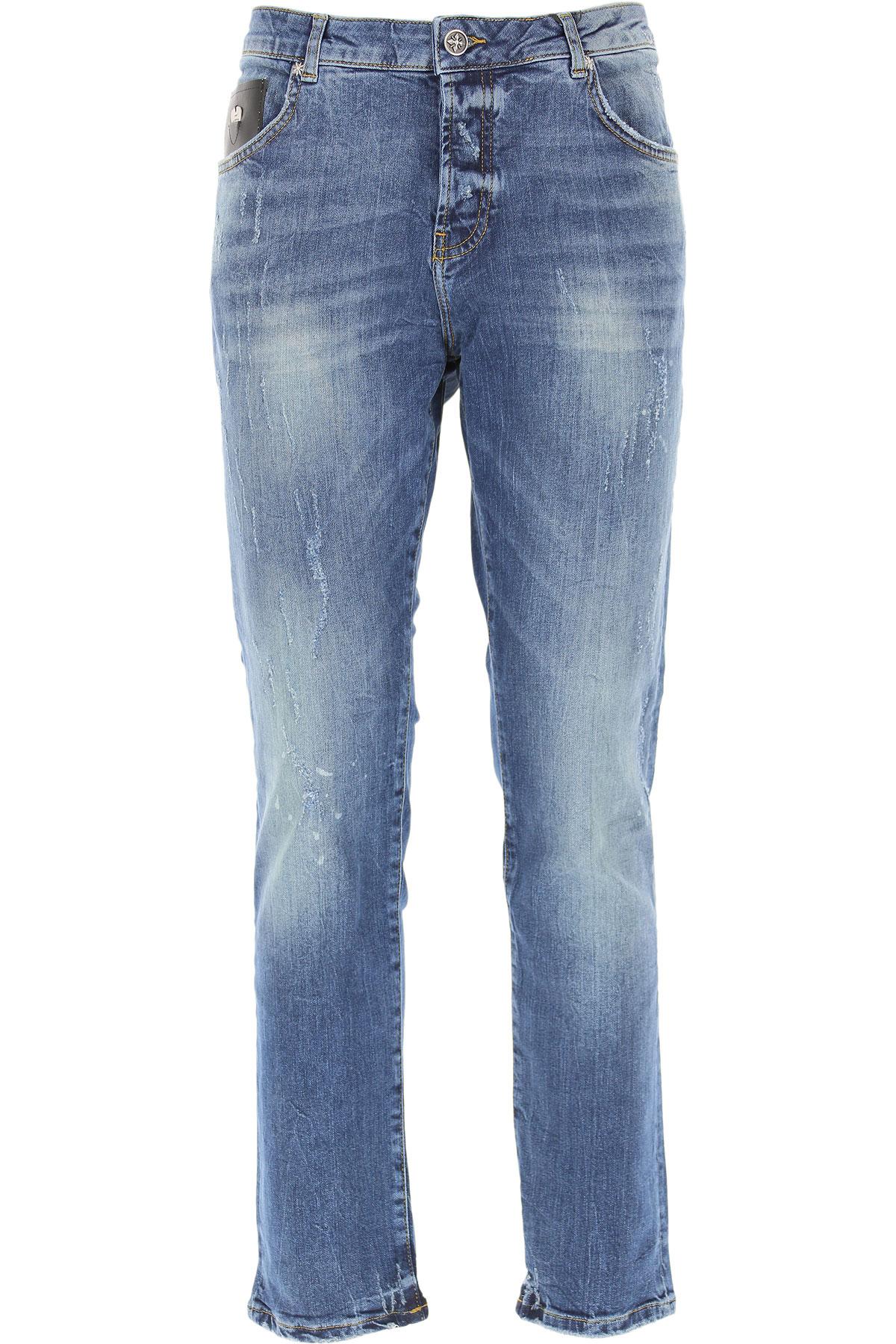 John Richmond Jeans On Sale, Denim Blue, Cotton, 2019, 30 32 34 36