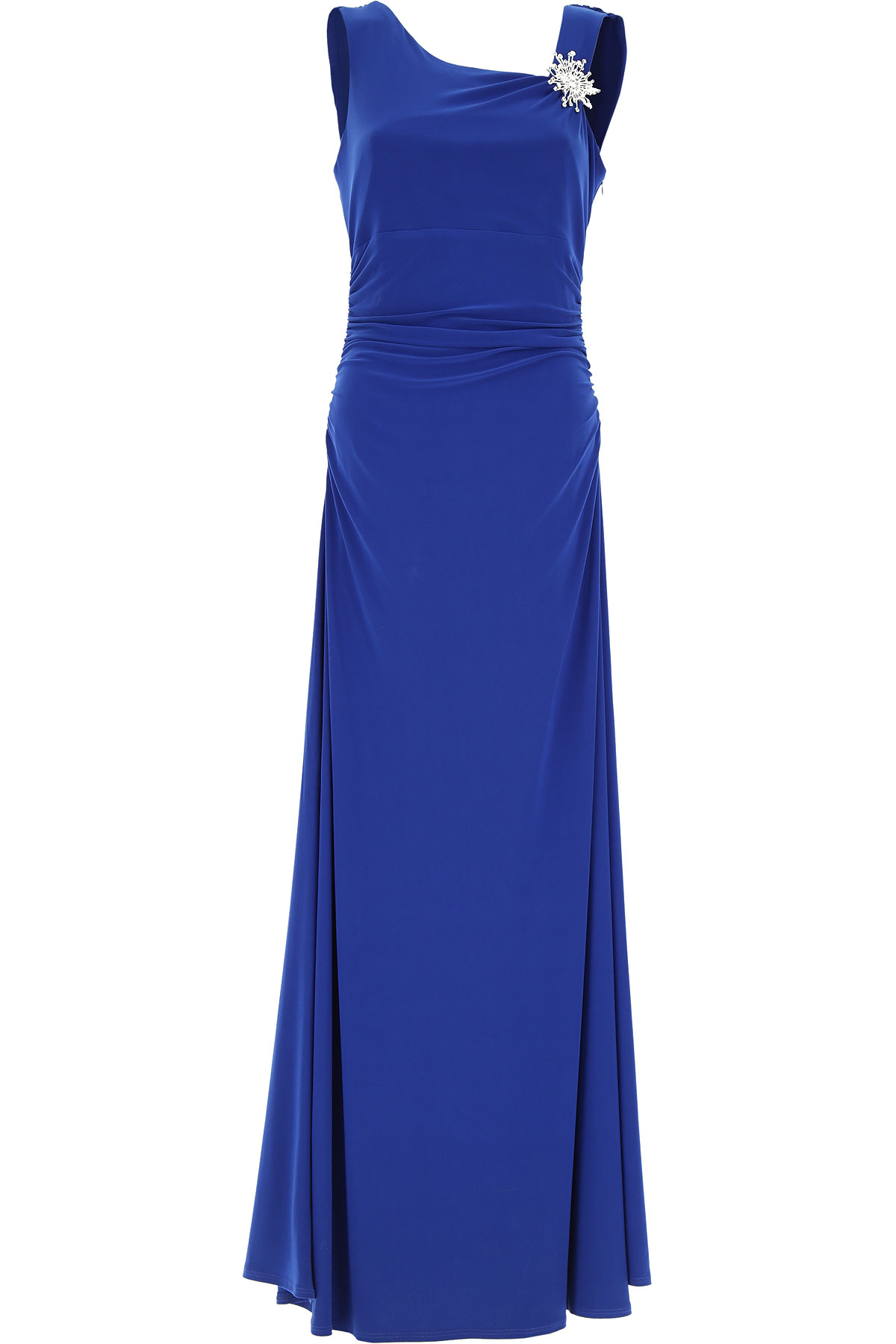 Joseph Ribkoff Dress for Women, Evening Cocktail Party, Blue, polyester, 2017, 10 12 8 USA-437257