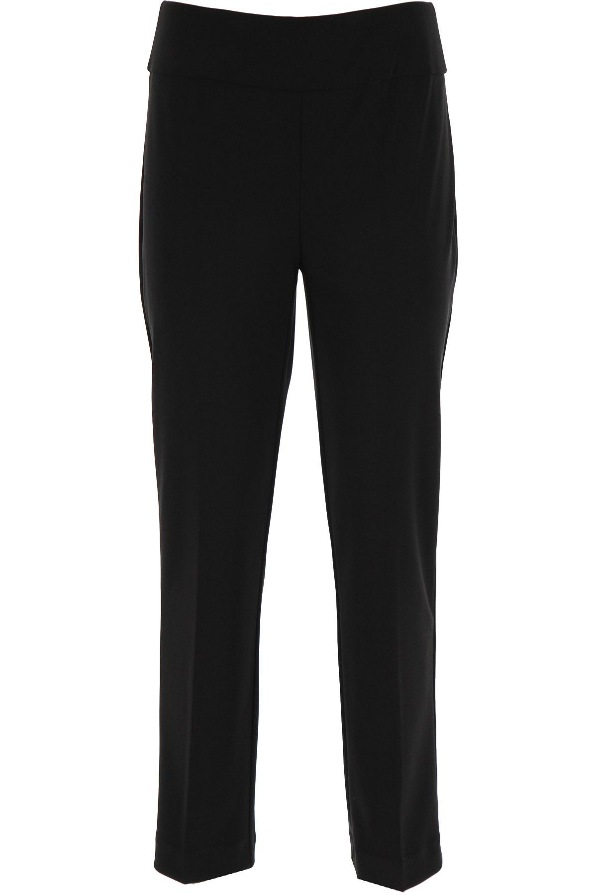Joseph Ribkoff Pants for Women On Sale, Black, polyester, 2019, 28 30 32