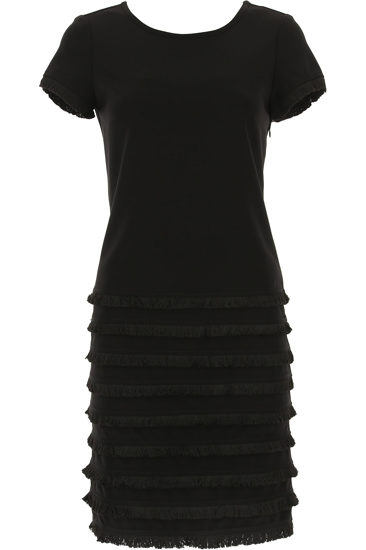 Image of Joseph Ribkoff Dress for Women, Evening Cocktail Party, Black, polyester, 2017, 4 6 8