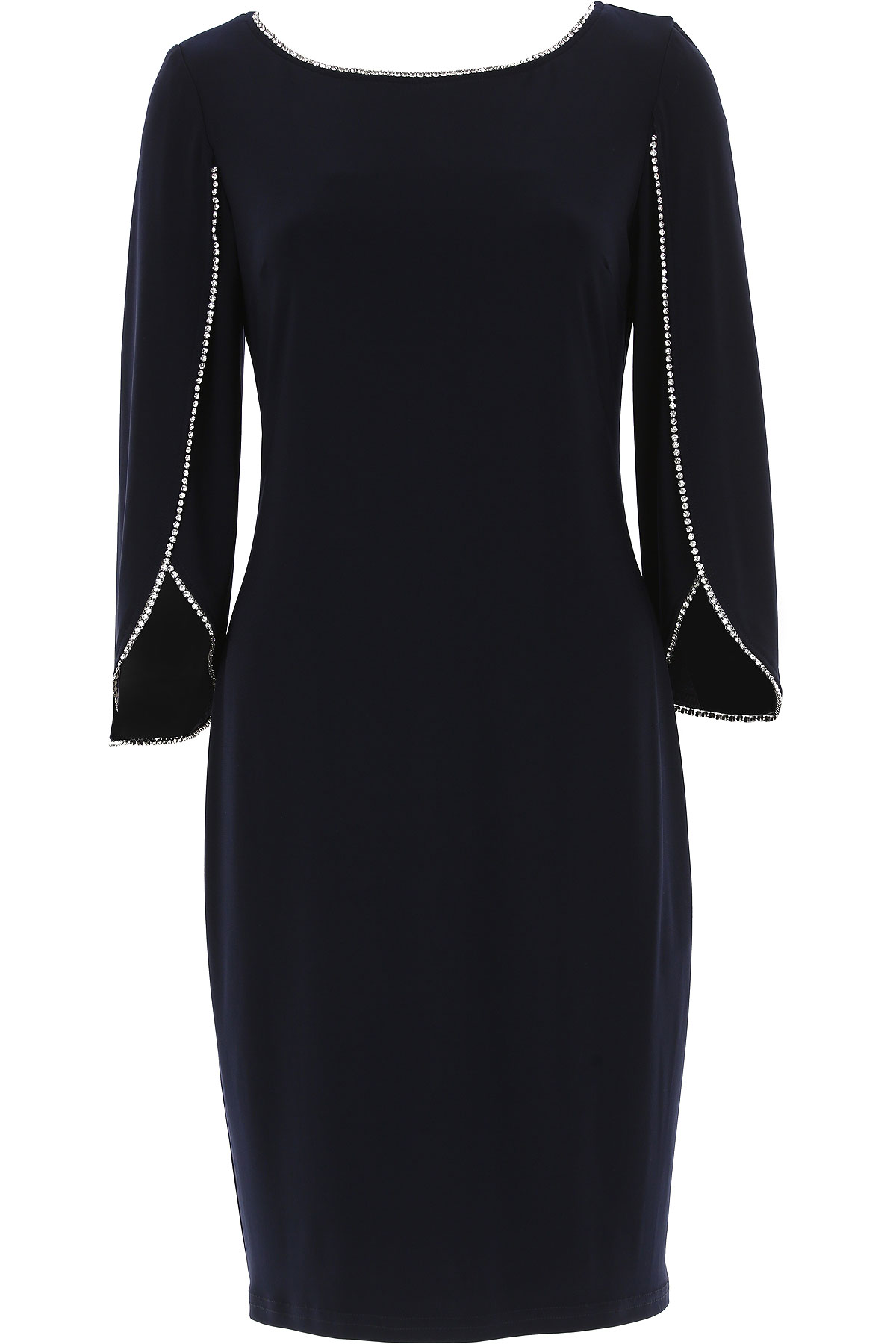 Image of Joseph Ribkoff Dress for Women, Evening Cocktail Party, Midnight, polyester, 2017, 10 6 8