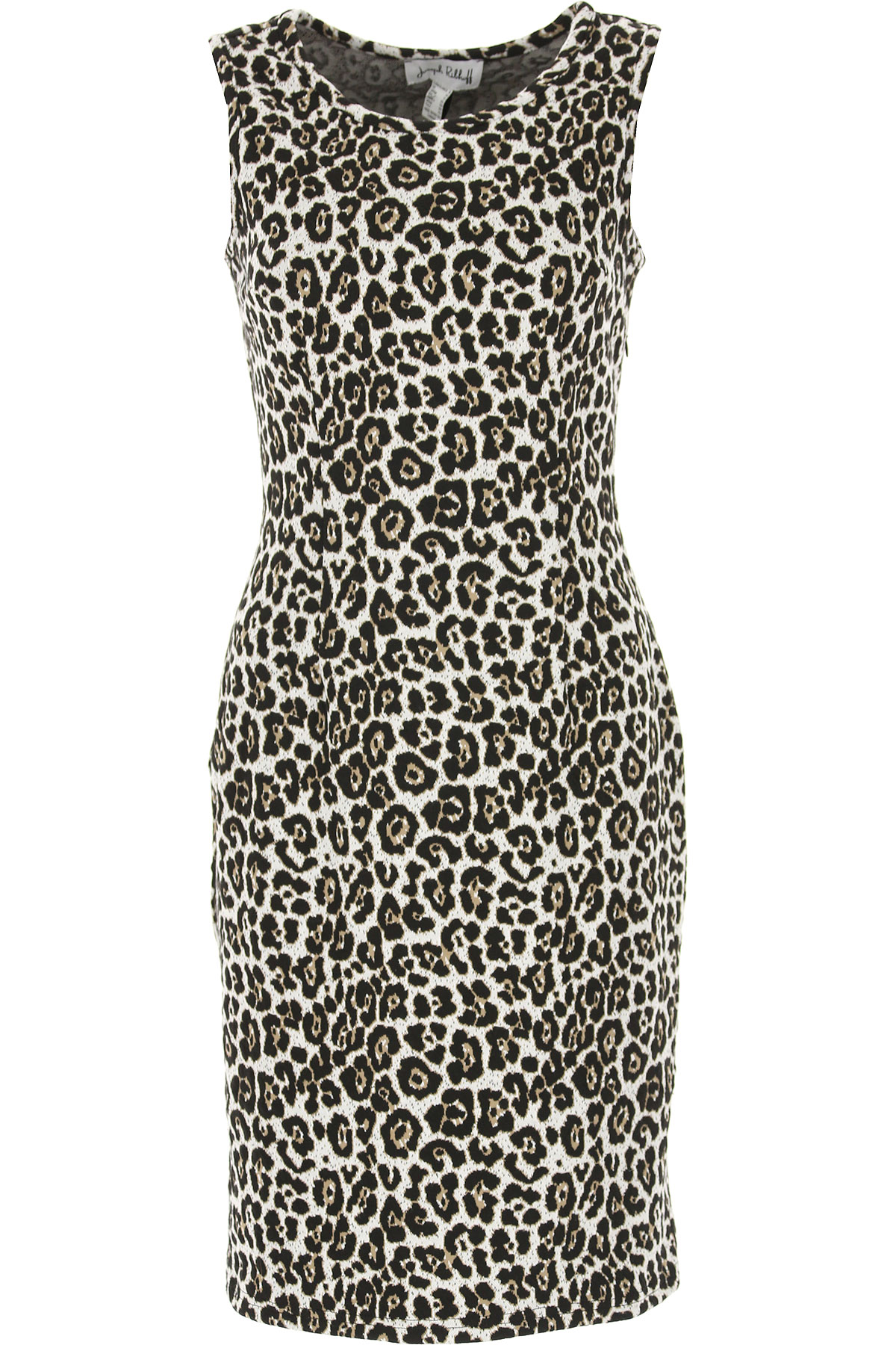 Image of Joseph Ribkoff Dress for Women, Evening Cocktail Party, Leopard, polyester, 2017, 10 12 8