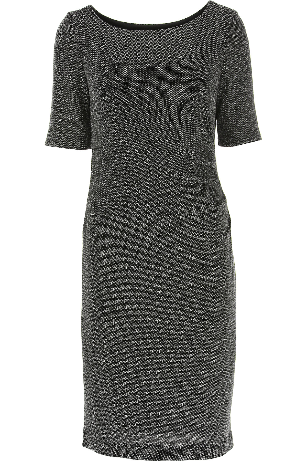 Image of Joseph Ribkoff Dress for Women, Evening Cocktail Party, Black, Nylon, 2017, 10 6 8