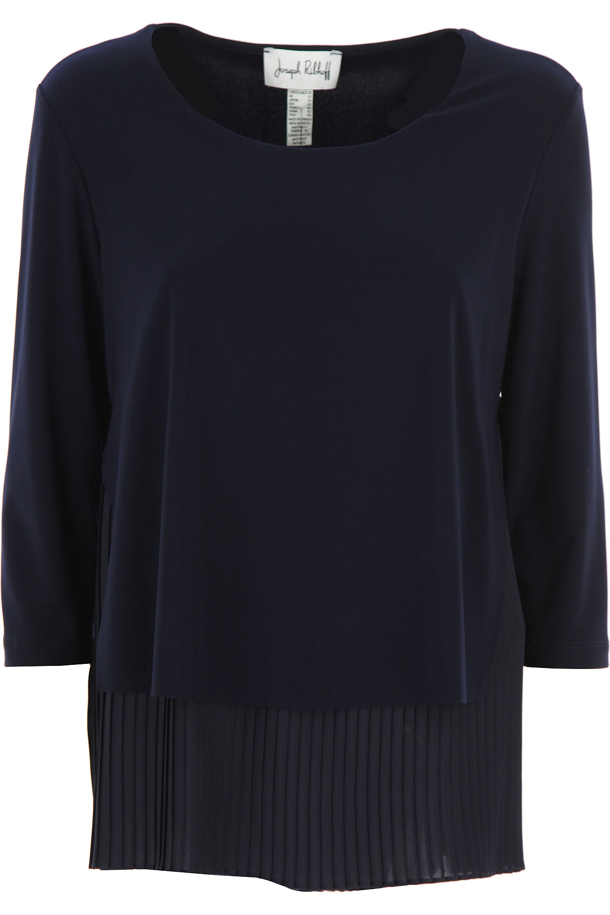 Joseph Ribkoff Top for Women On Sale, Midnight Blue, polyester, 2019, 10 14 8