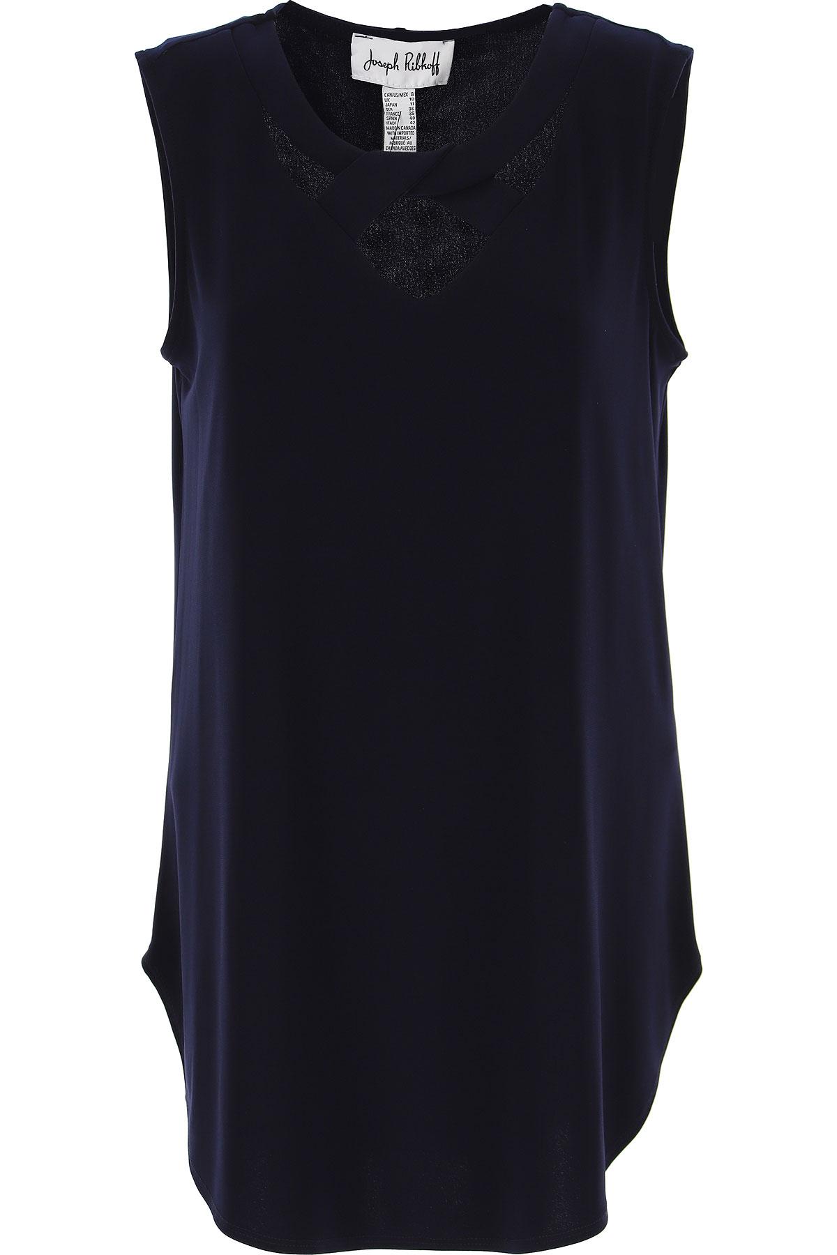 Joseph Ribkoff Top for Women On Sale, Dark Ink Blue, polyester, 2019, 10 14 6 8