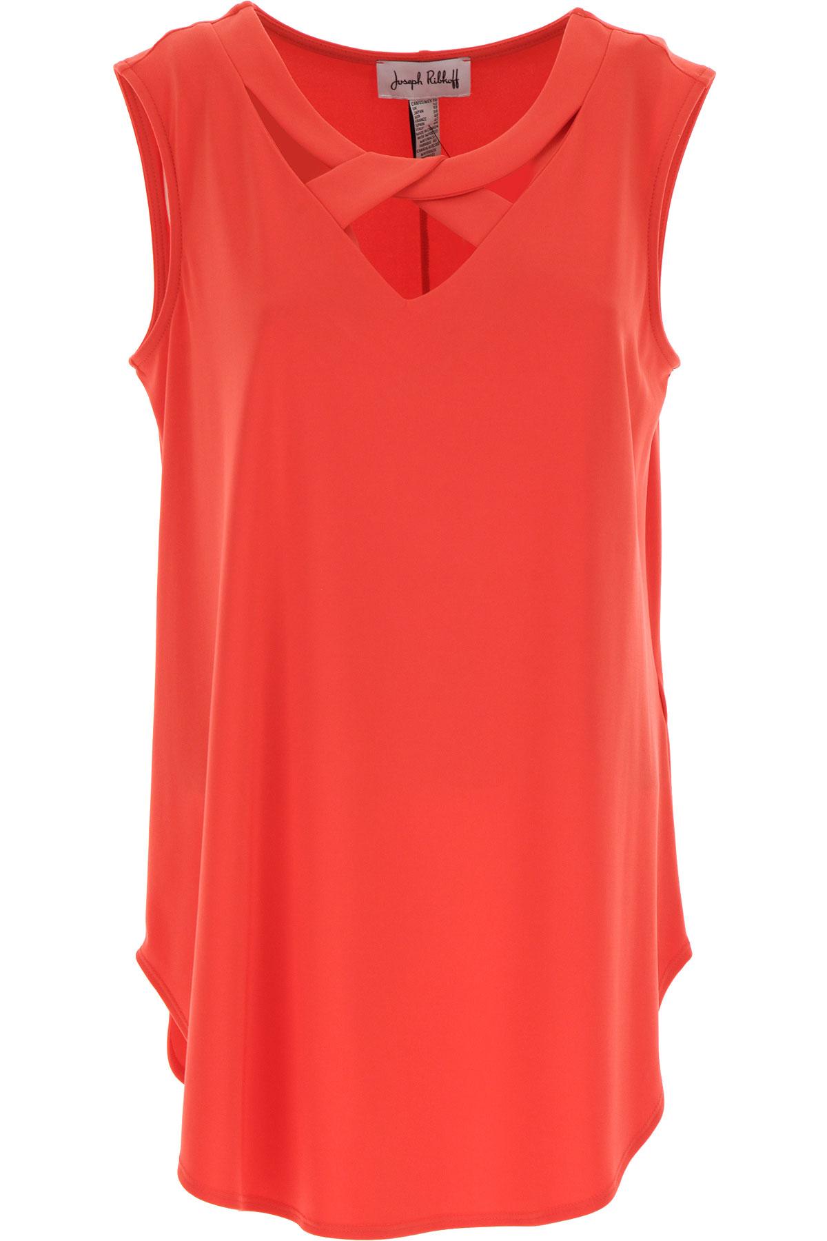 Joseph Ribkoff Top for Women On Sale, Orange, polyester, 2019, 10 12 14 8