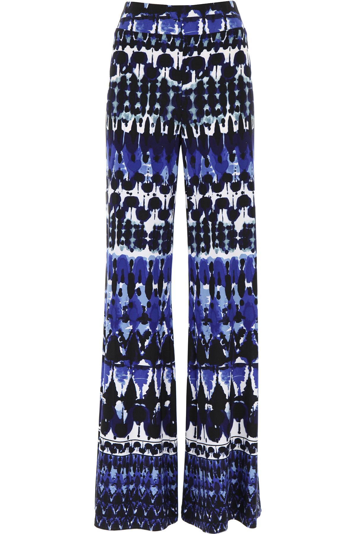 Joseph Ribkoff Pants for Women On Sale, Blue Melange, polyester, 2019, 28 30 32