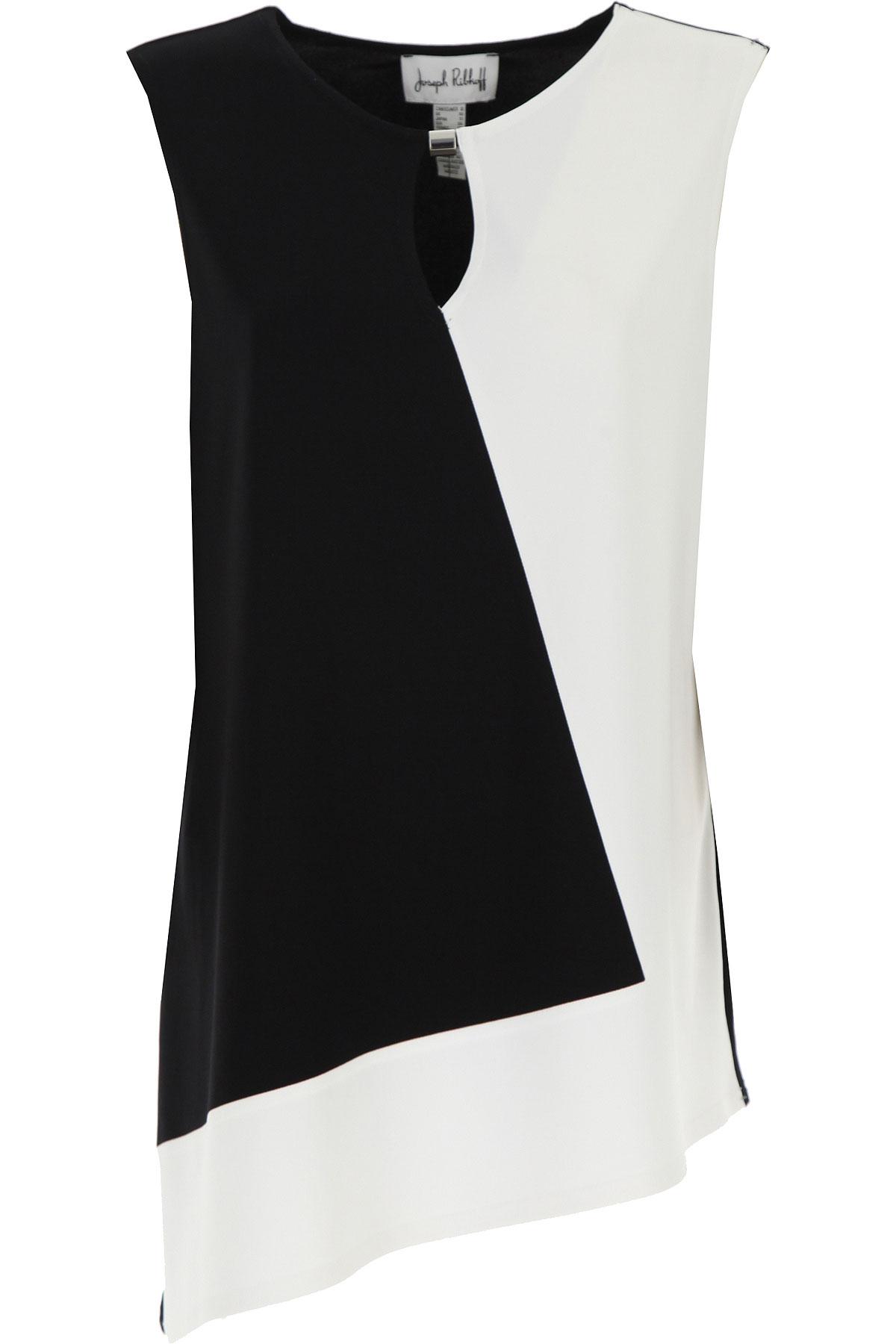 Joseph Ribkoff Top for Women On Sale, Black, polyester, 2019, 10 12 14 6 8