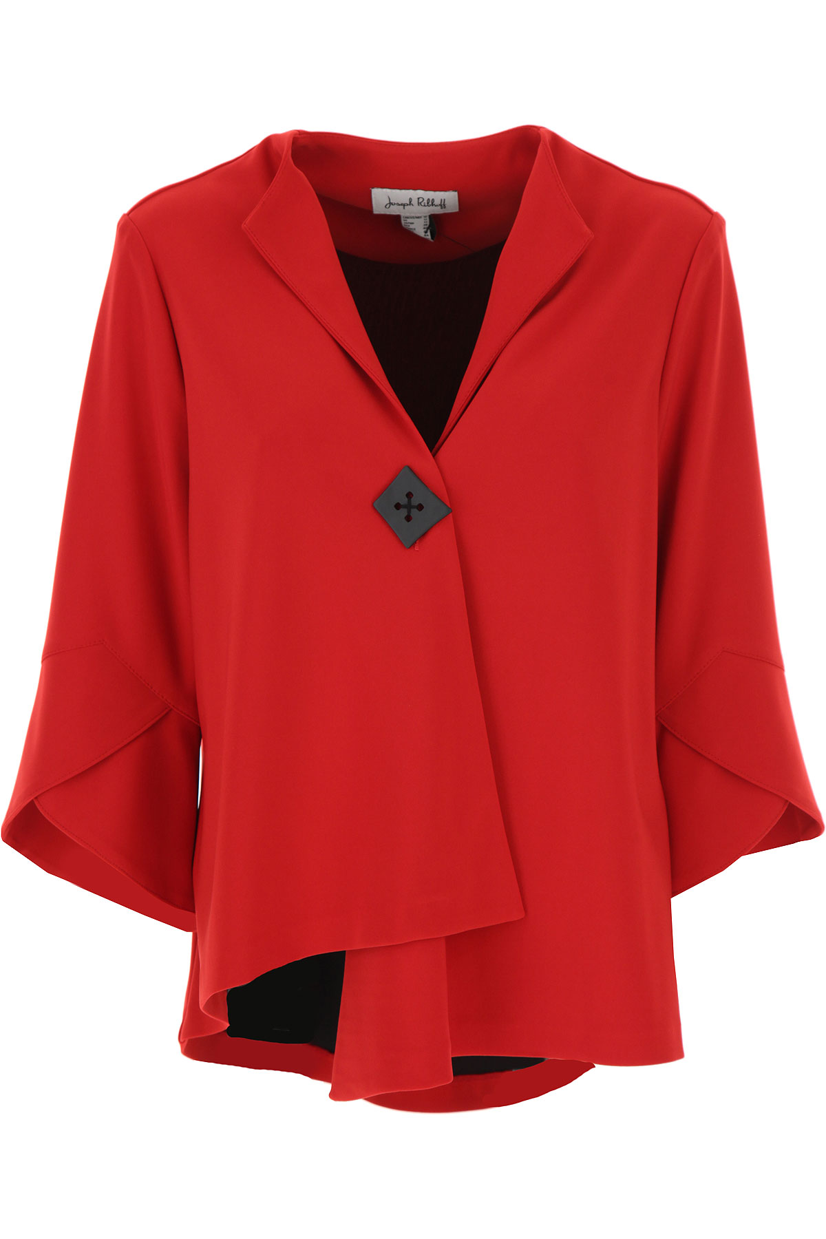 Joseph Ribkoff Jacket for Women On Sale, Lipstick Red, polyester, 2019, 10 12 14 8