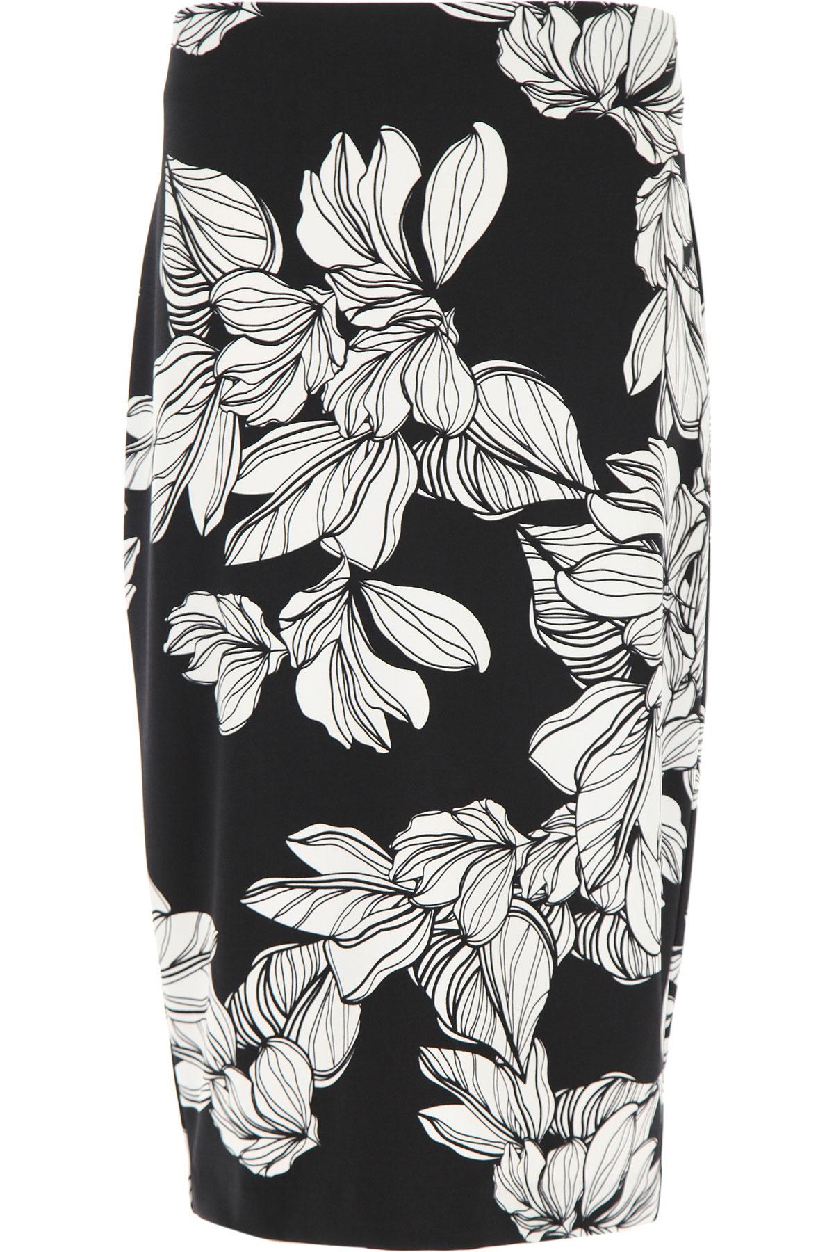 Joseph Ribkoff Skirt for Women On Sale, Black, polyester, 2019, 30 32