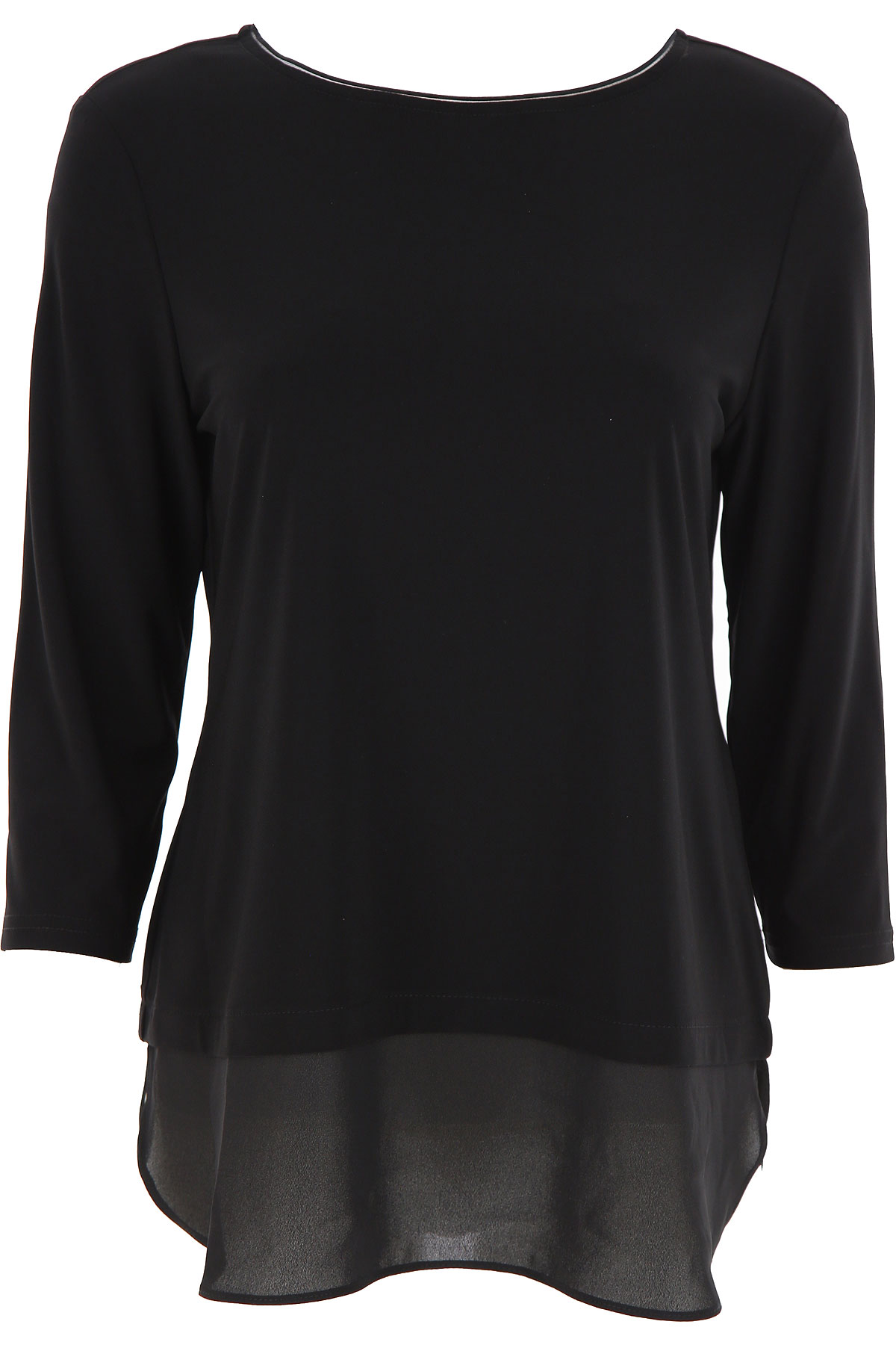 Joseph Ribkoff Top for Women On Sale, Black, polyester, 2019, 10 34 8