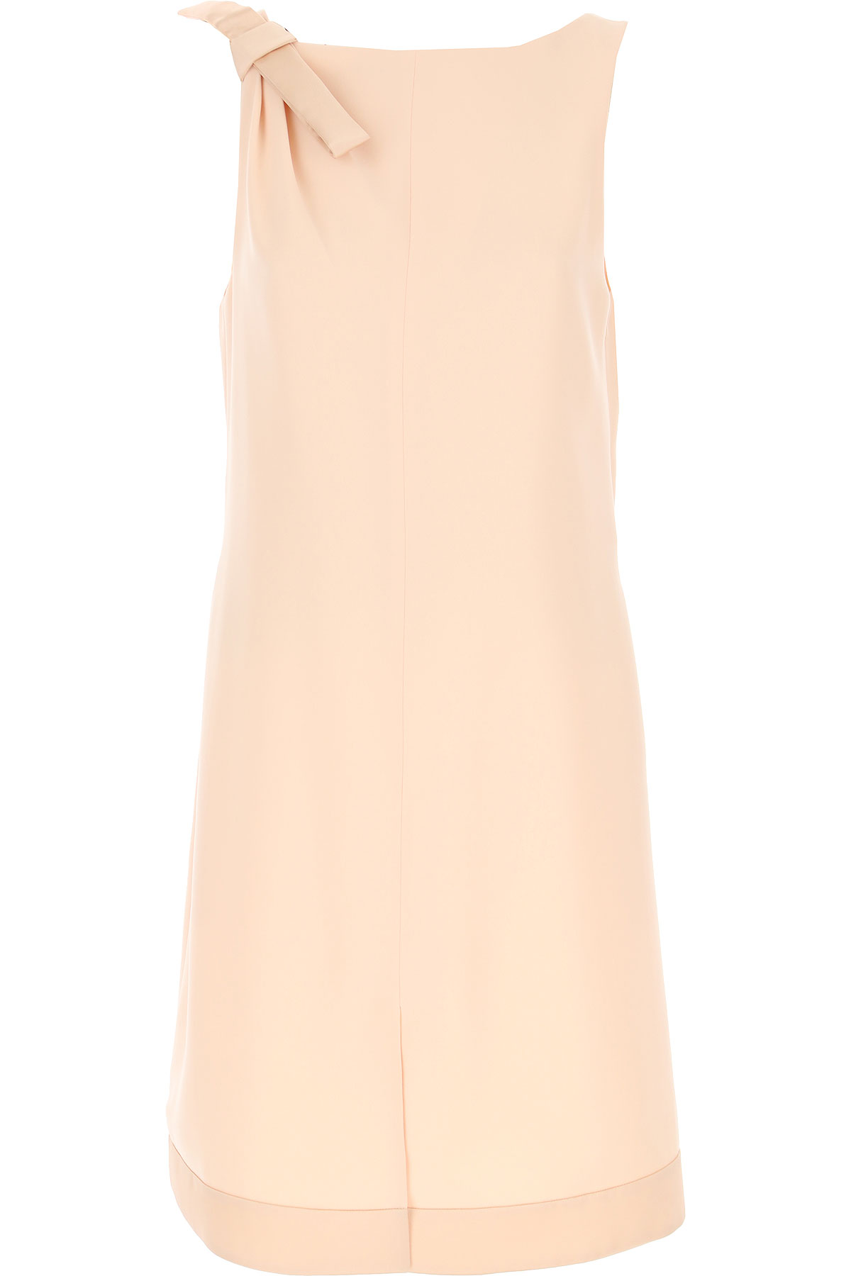 Joseph Ribkoff Dress for Women, Evening Cocktail Party On Sale, Nude, polyester, 2019, 4 6