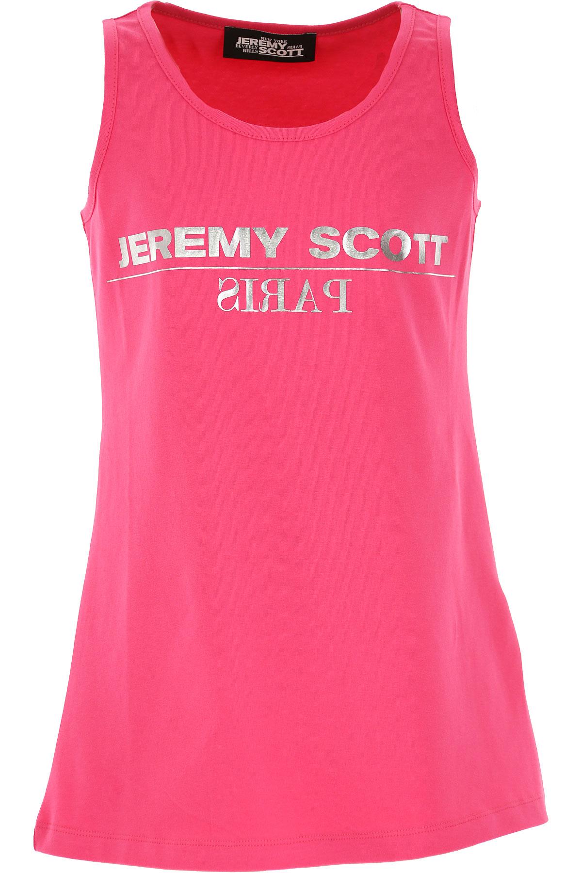 Jeremy Scott T-Shirt Enfant pour Fille, Fuchsia, Coton, 2017, 10Y 12Y 14Y 4Y 6Y 8Y
