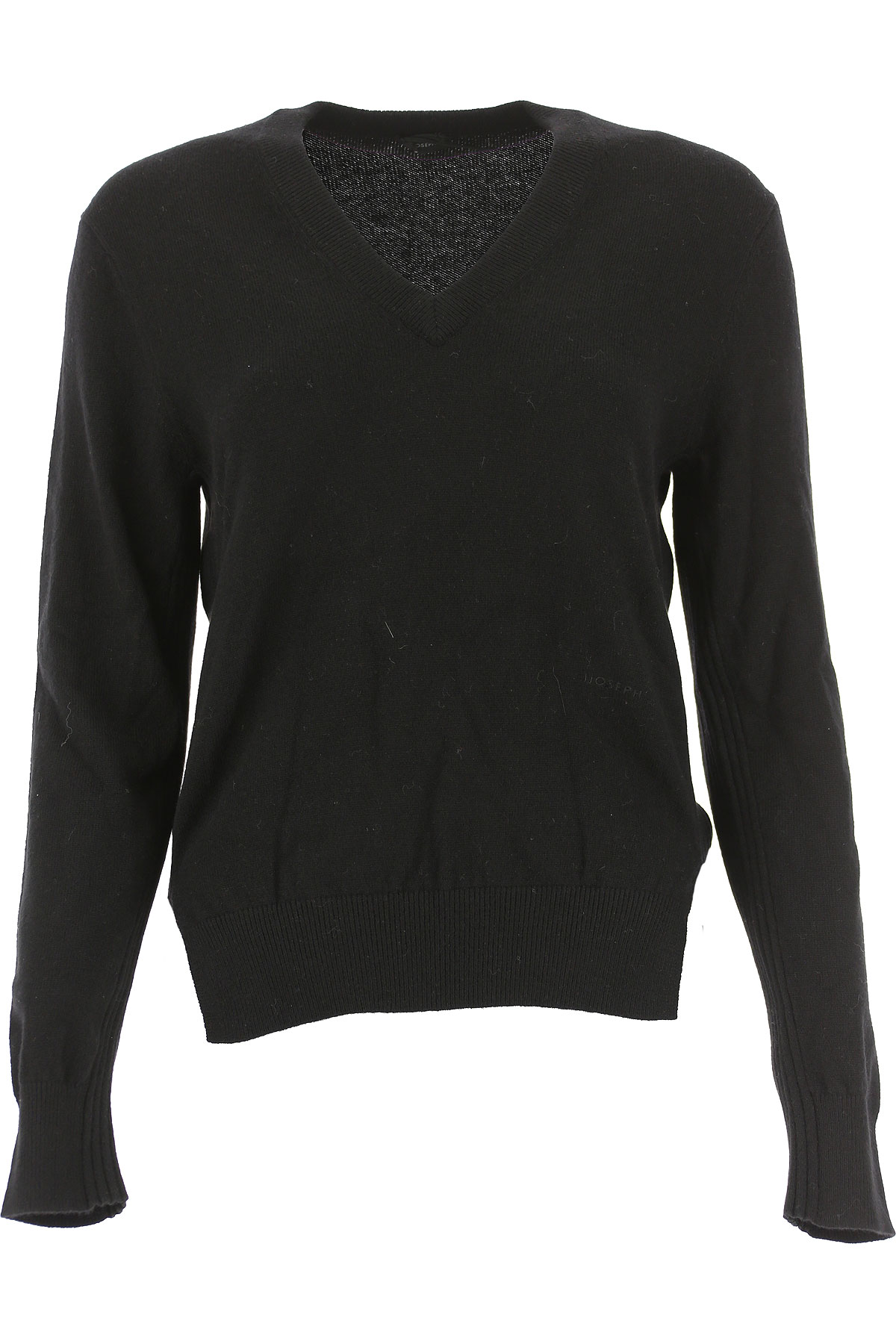 Image of Joseph Sweater for Women Jumper, Black, Cashmere, 2017, 4 6 8