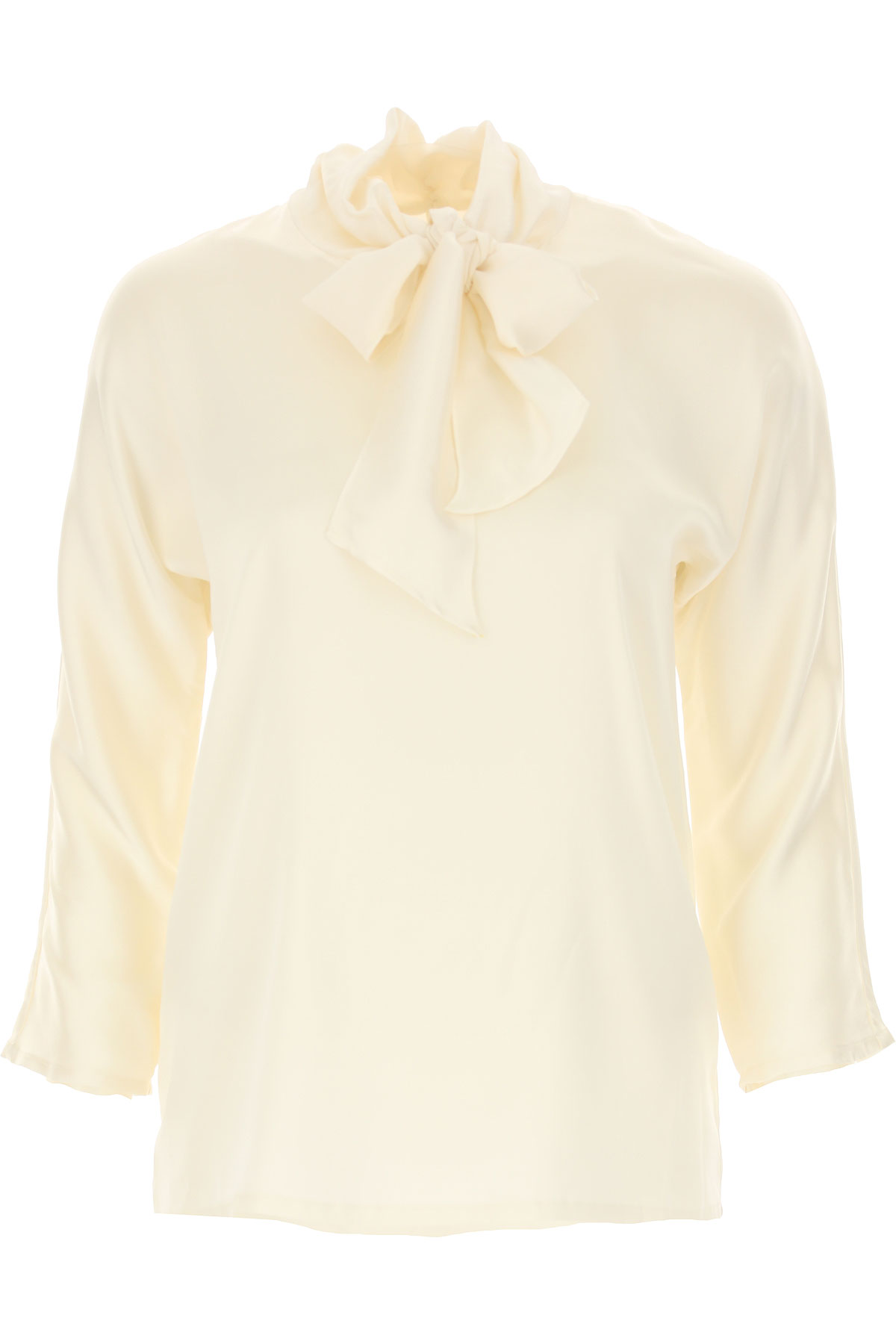 Jucca Top for Women On Sale, Cream, Silk, 2019, 2 4 6 8