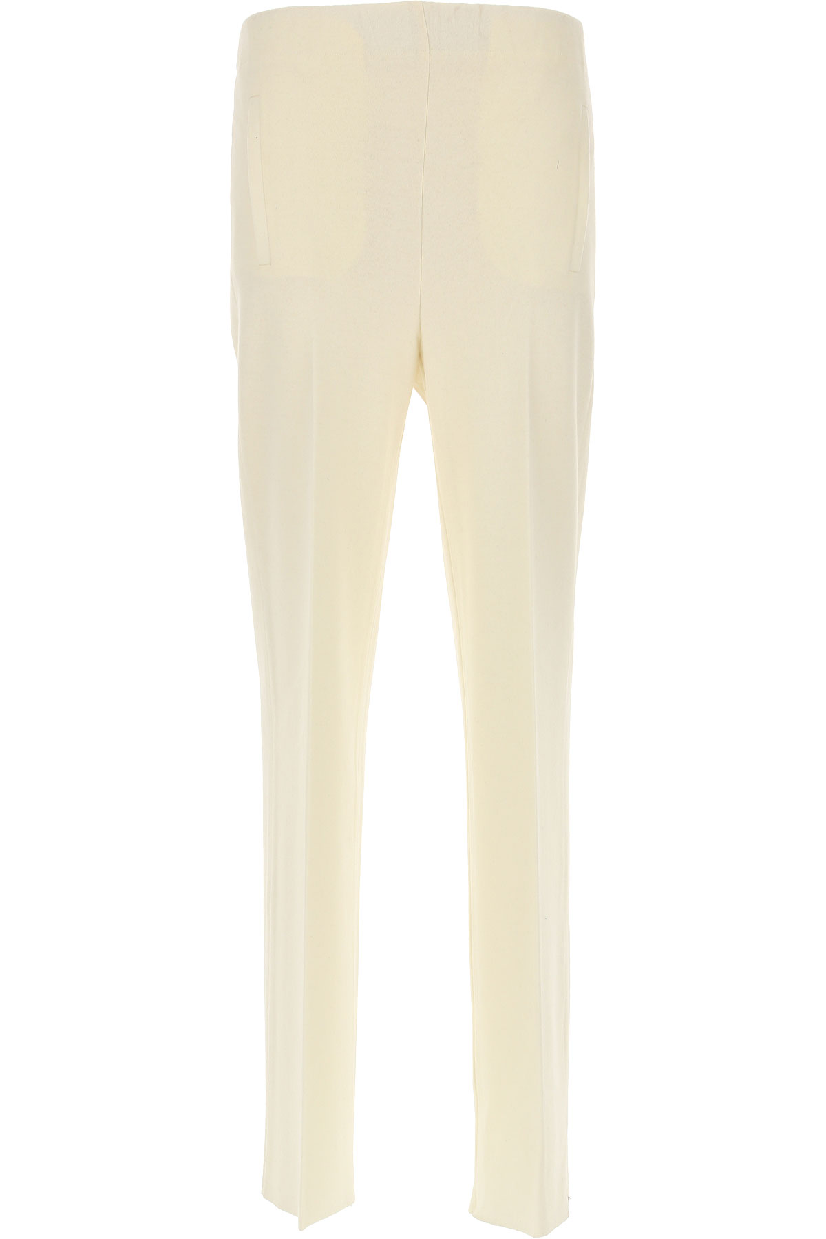 Image of Jucca Pants for Women, Cream, Wool, 2017, 24 26