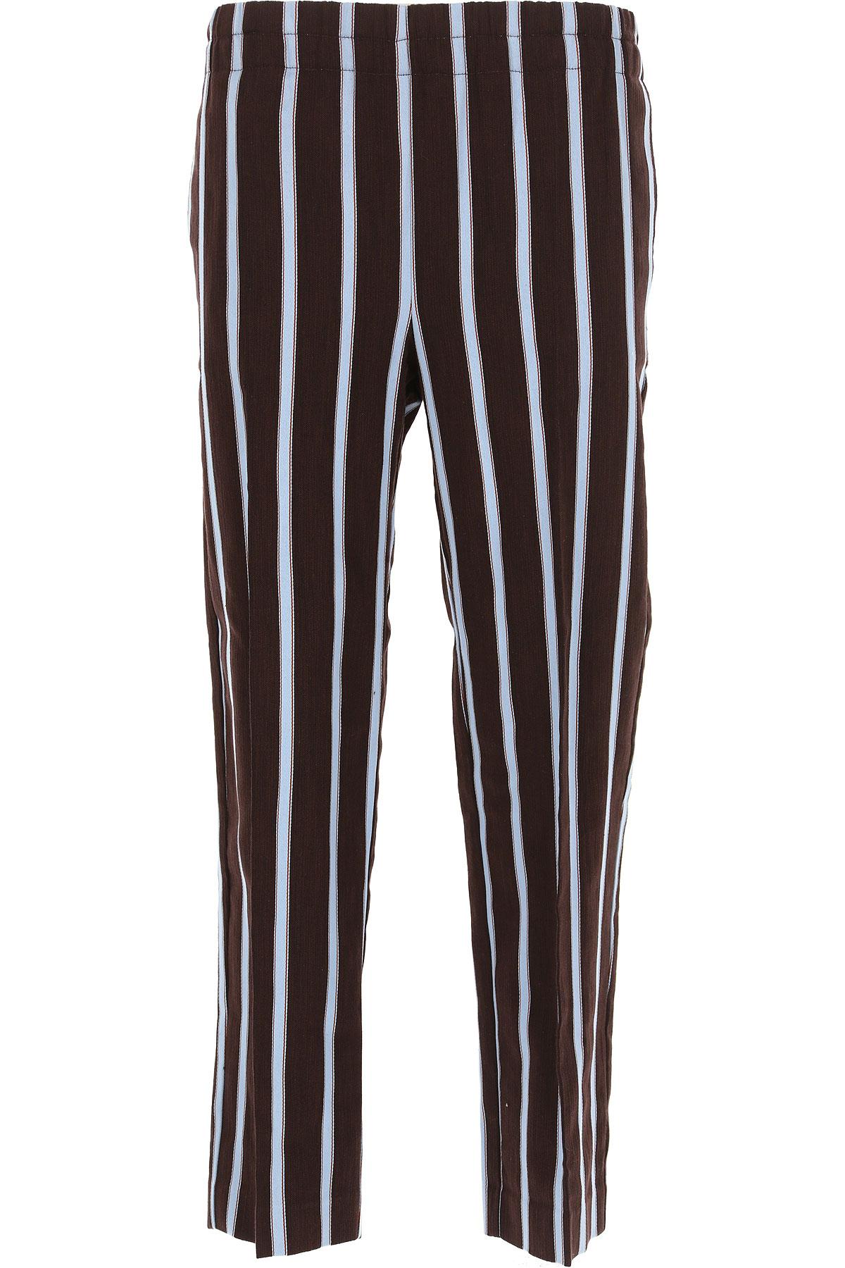 Image of Jucca Pants for Women On Sale, Moka, Cotton, 2017, 26 28 30 32